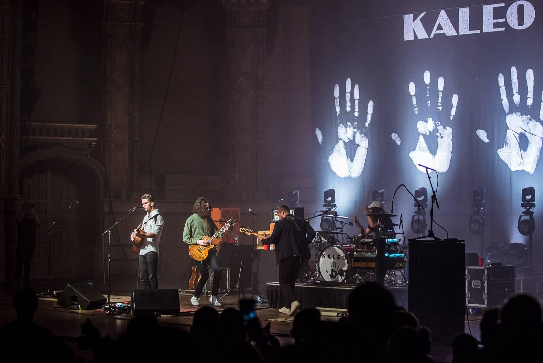 Kaleo at the Orpheum Theater, Vancouver, Apr. 4 2017. Pavel Boiko photo.