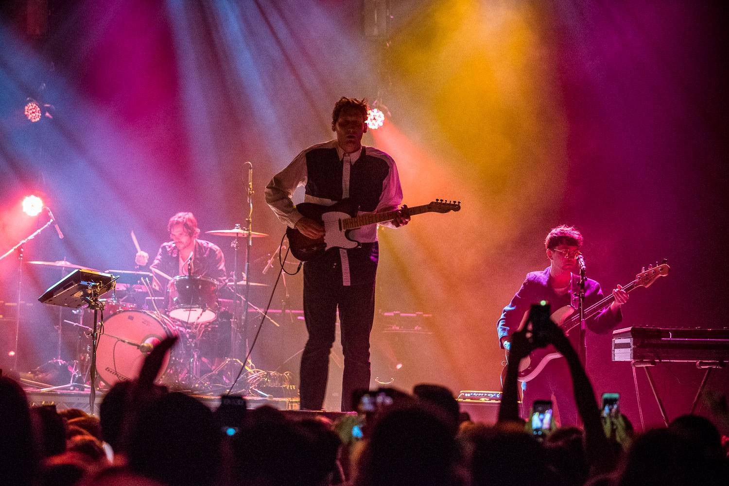 The Zolas at the Vogue Theatre, Vancouver, Apr. 6 2017. Pavel Boiko photo.