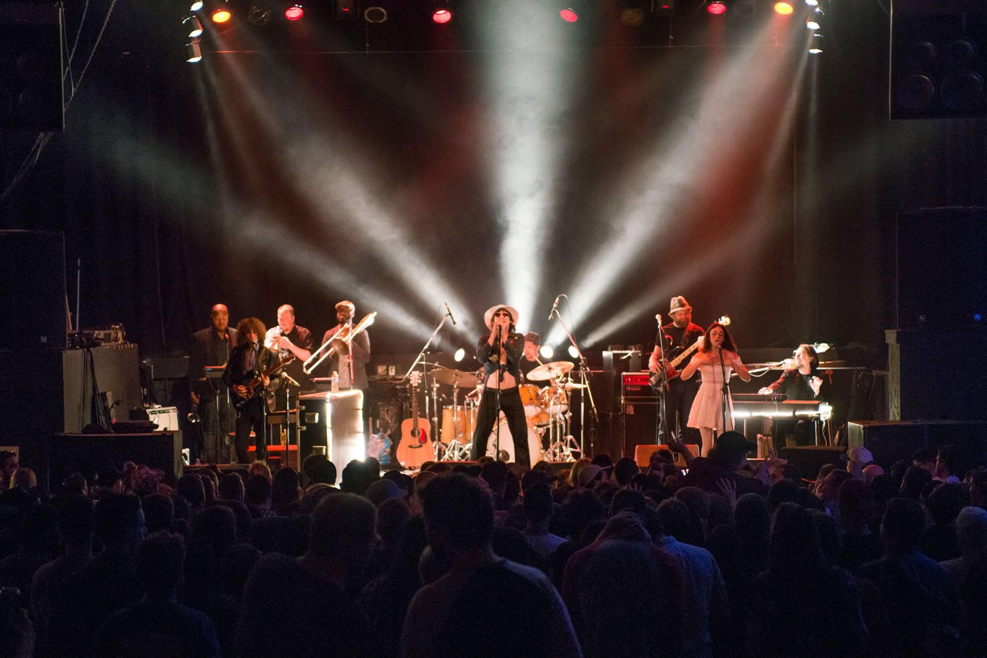 Foxygen at the Rickshaw Theatre, Vancouver, May 25 2017. Jessica Vandergulik photo.