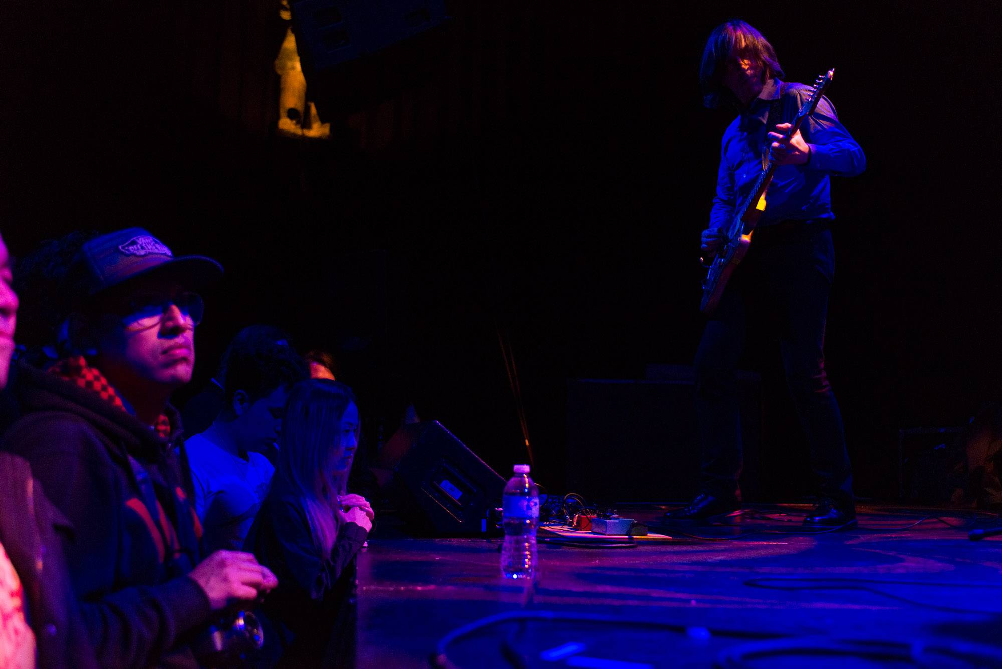Thurston Moore at the Imperial Nightclub, Vancouver, May 8 2017. Jessica Vandergulik photo.