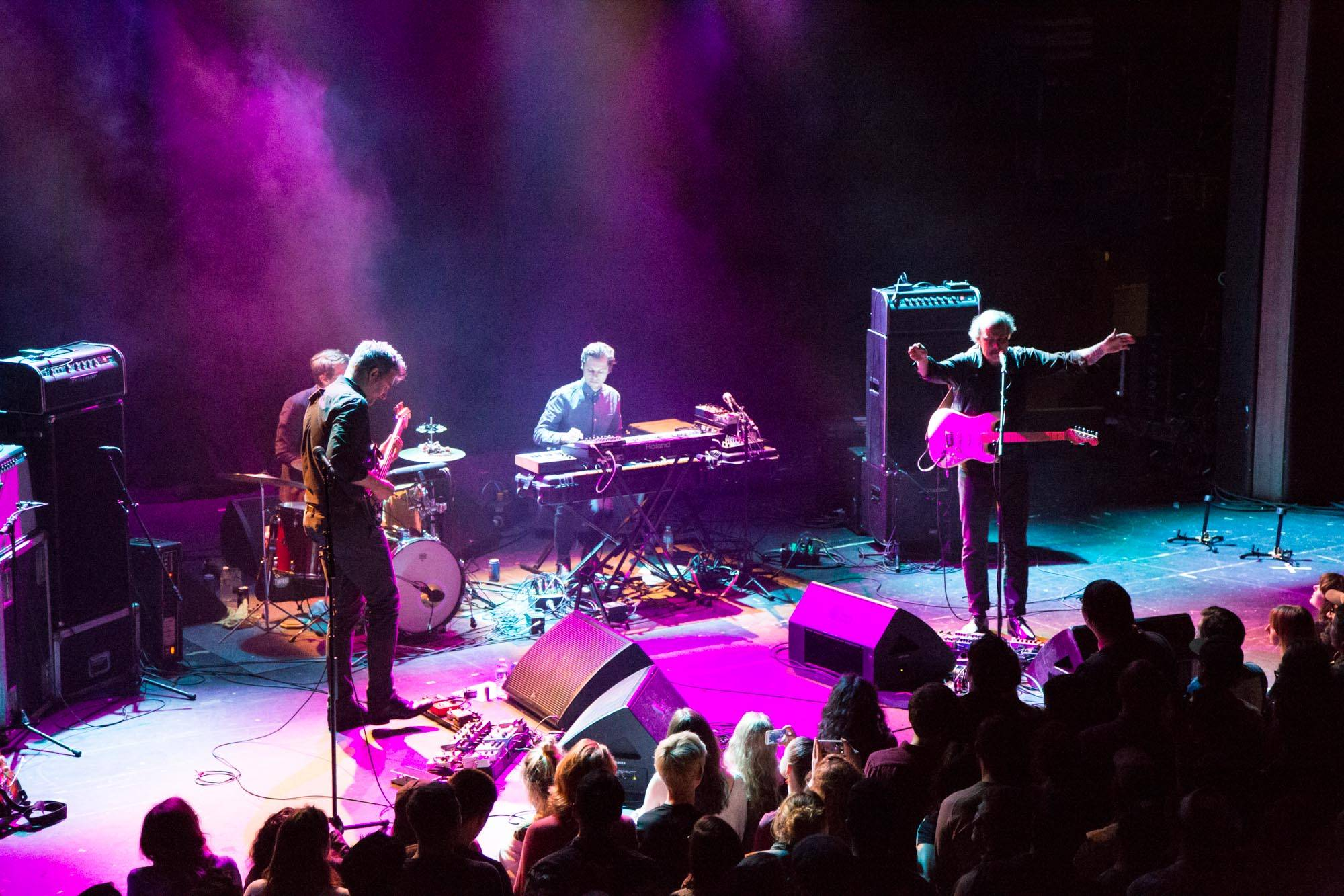 Timber Timbre at the Vogue Theatre, Vancouver, May 5 2017. Kirk Chantraine photo.