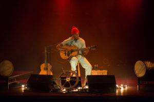Photo from Seu Jorge's previous show at the Vogue Theatre, November 20 2016. Kirk Chantraine photo.