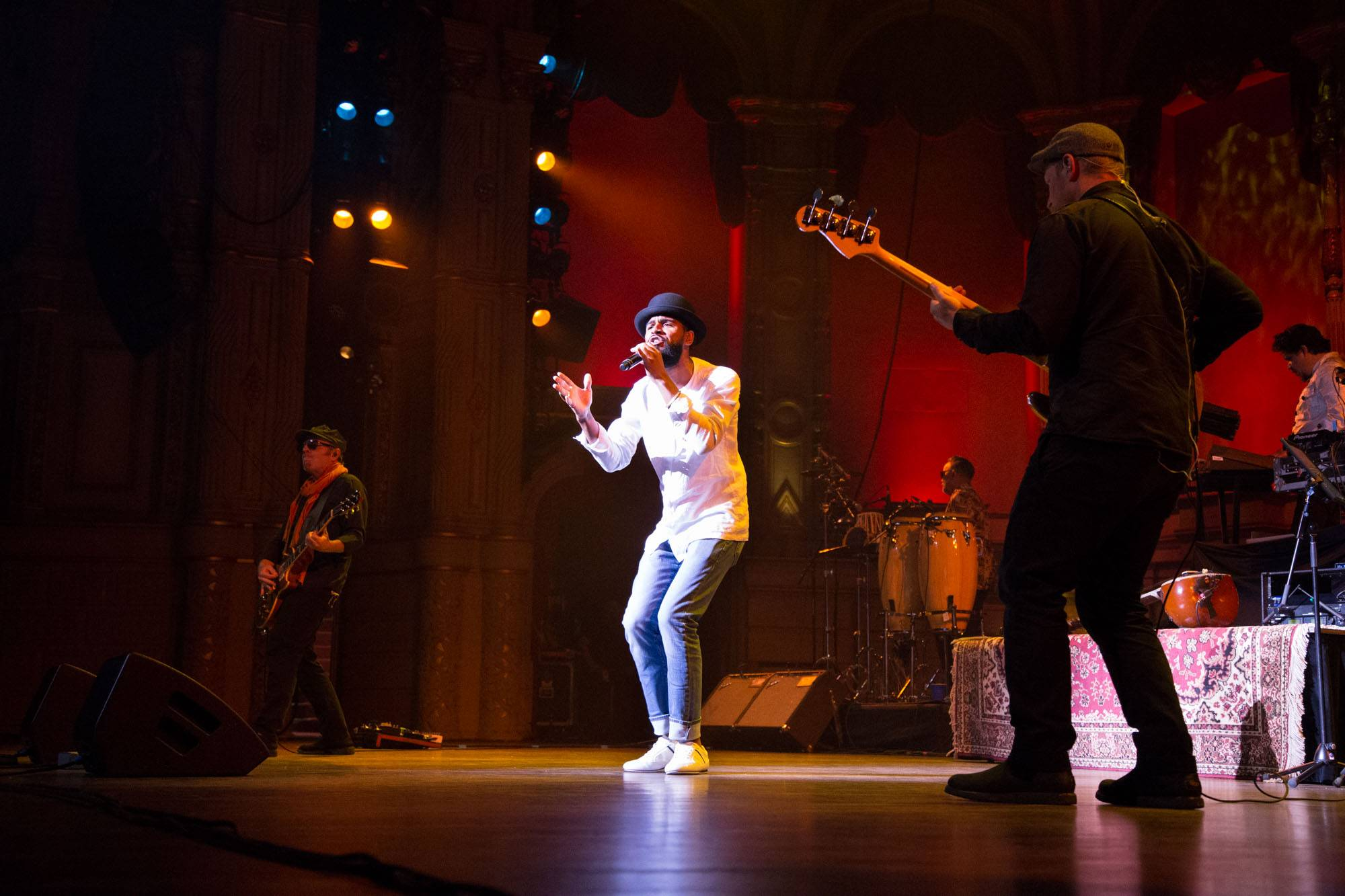 Thievery Corporation at the Orpheum Theatre, Vancouver, June 29 2017. Kirk Chantraine photo.