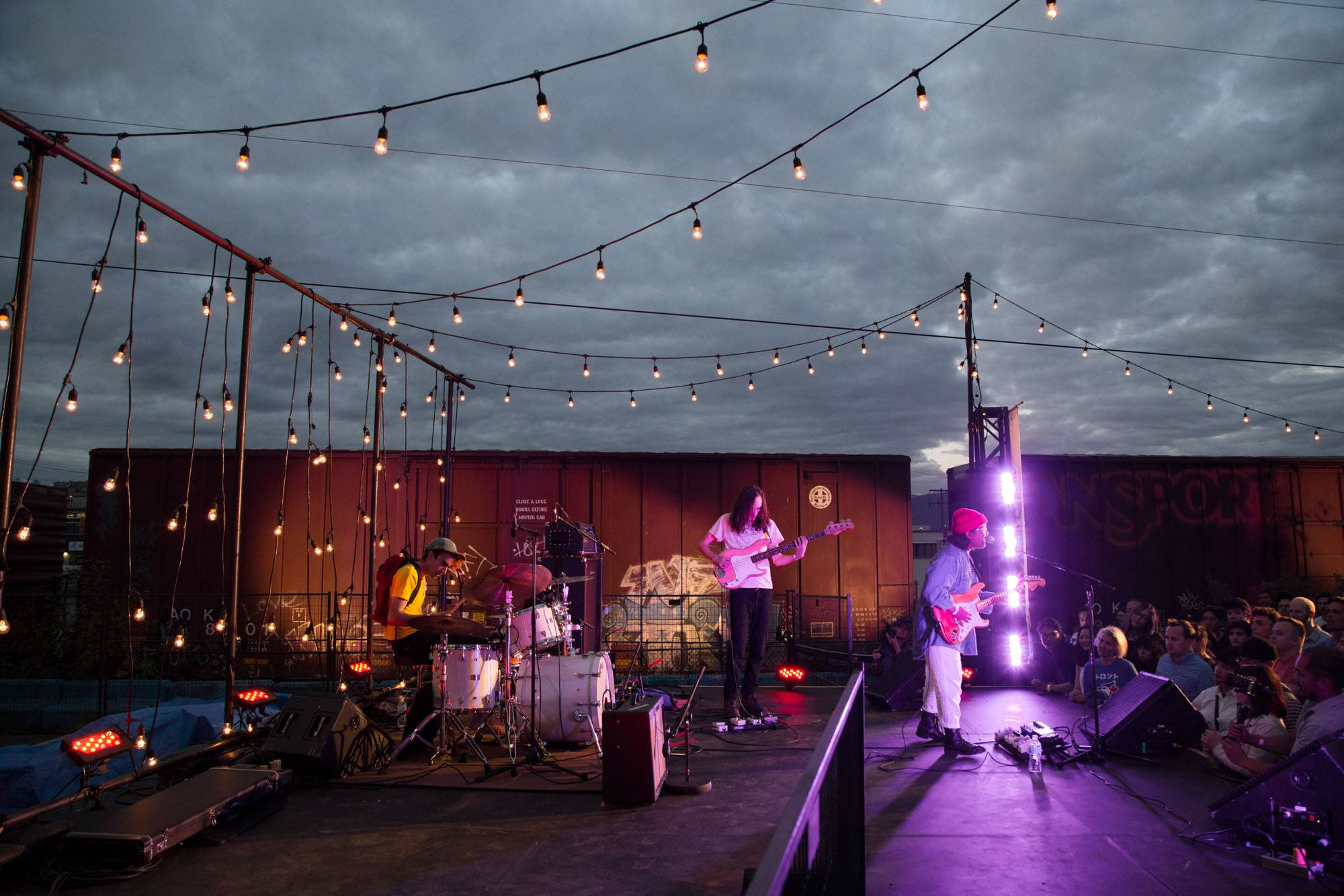 Jay Som at the Monte Clark Gallery, Vancouver, July 22 2017. Kirk Chantraine photo.