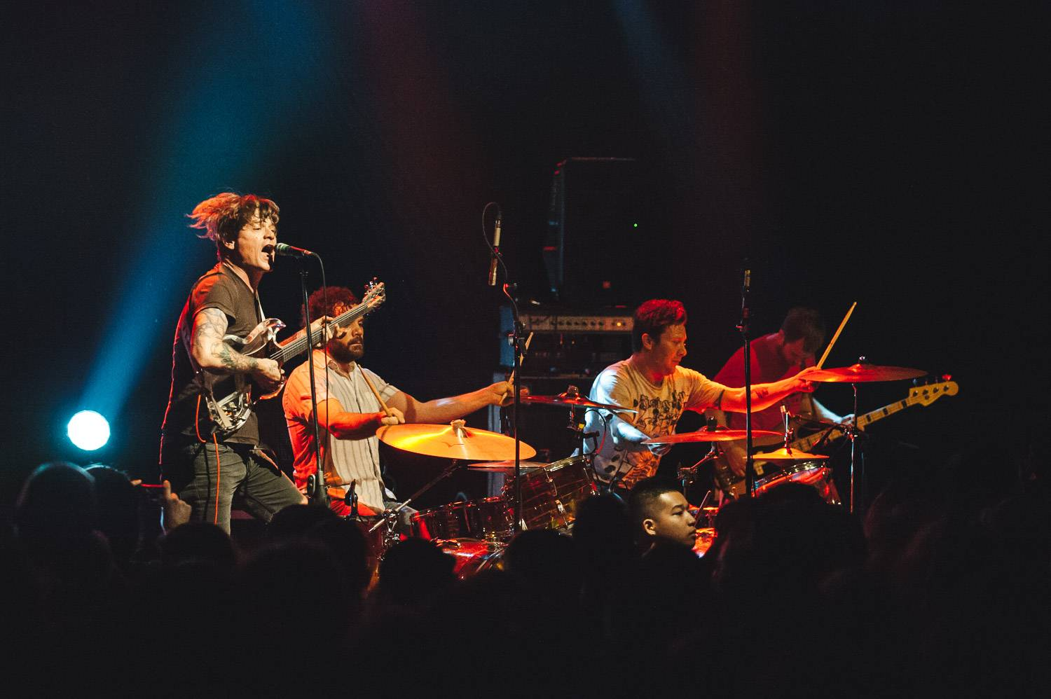 Oh Sees at the Commodore Ballroom, Vancouver, Sept 24 2017. Pavel Boiko photo.