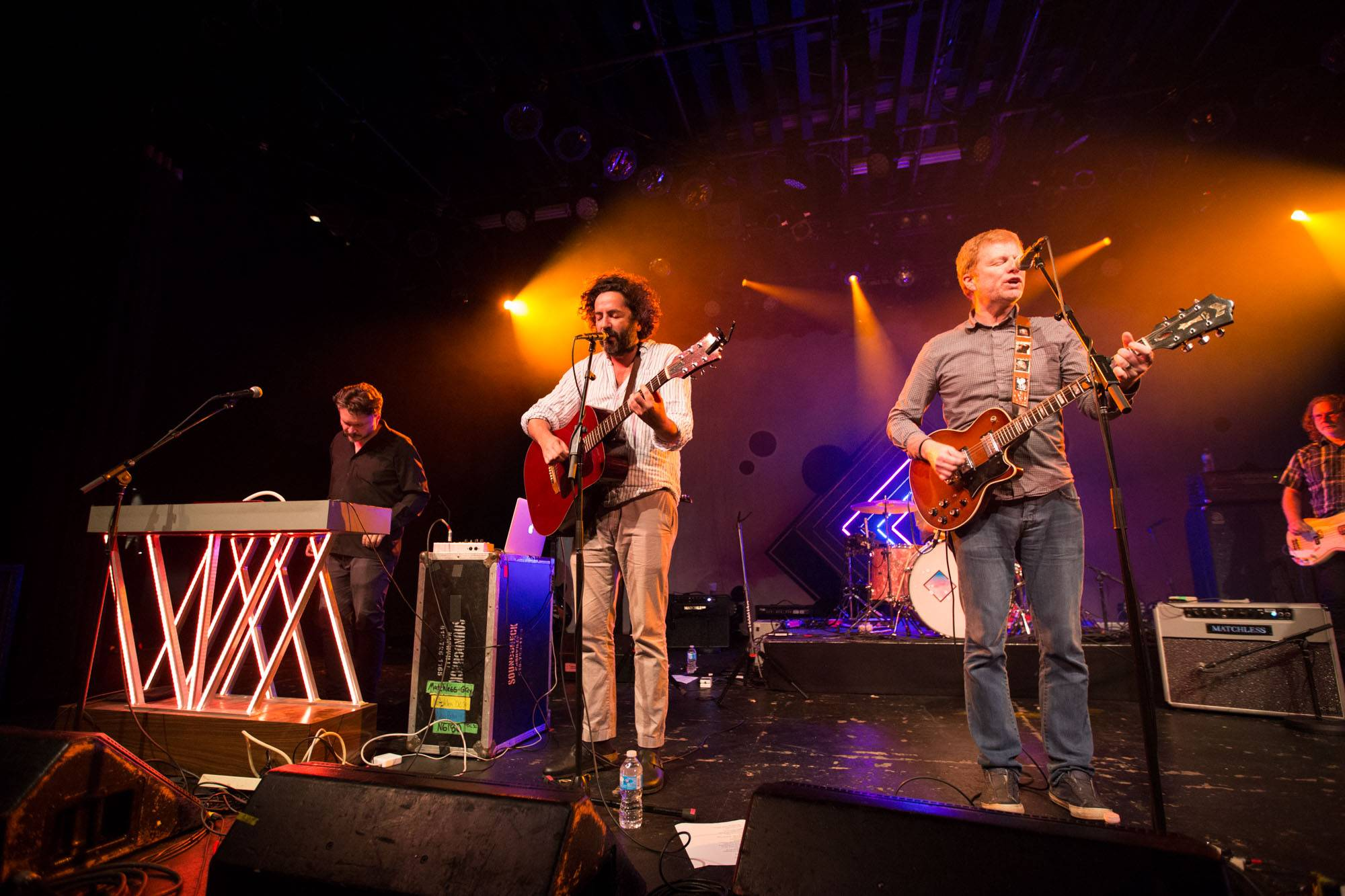 The New Pornographers at the Commodore Ballroom, Vancouver, Sept 29 2017. Kirk Chantraine photo.