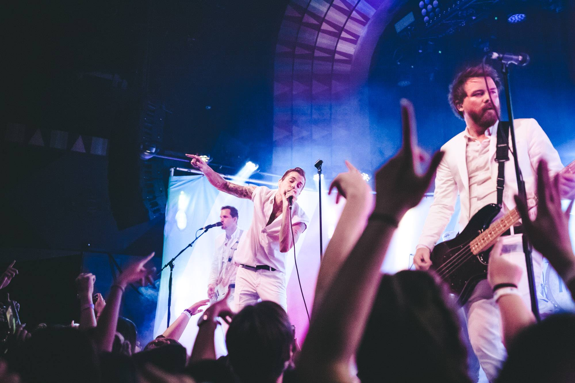 The Maine at the Regent Theatre, Los Angeles, Oct 24 2017. Kelli Anne photo.