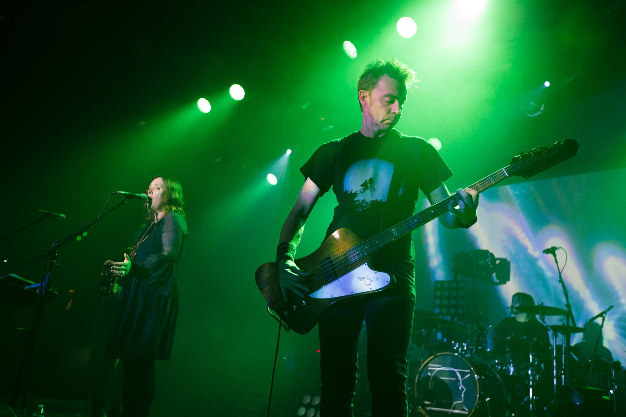 Slowdive at the Commodore Ballroom, Vancouver, Oct 23 2017. Kirk Chantraine photo.