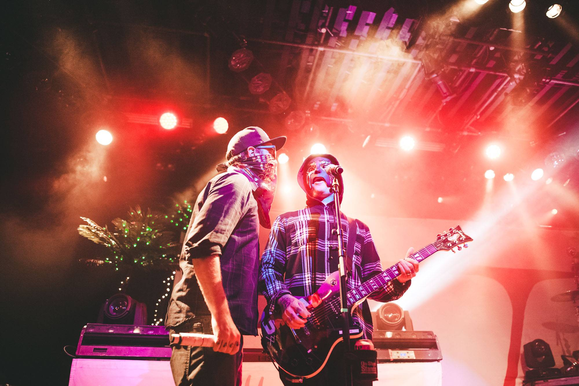 Hollywood Undead at the Commodore Ballroom, Vancouver, Nov 2 2017. Kelli Anne photo.