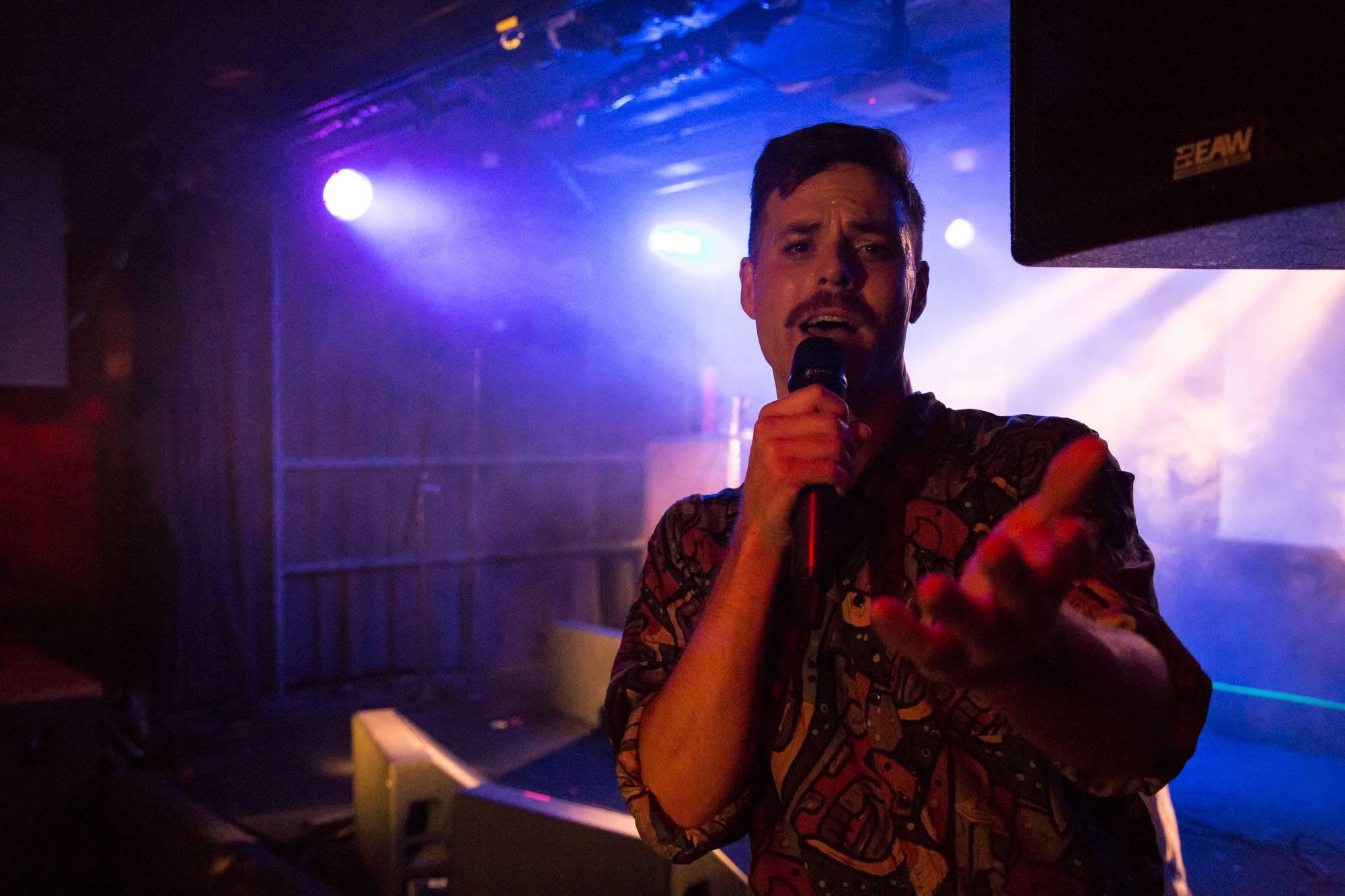 Mark Mills at the Biltmore Cabaret, Vancouver, Nov 4 2017. Kirk Chantraine photo.