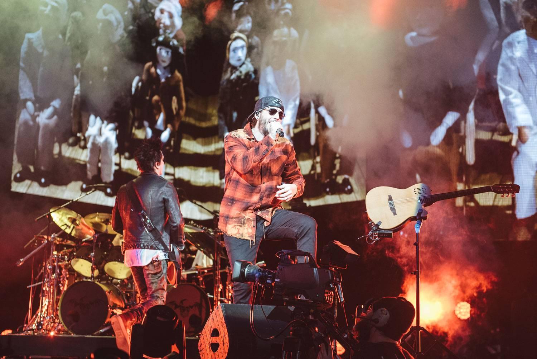 Avenged Sevenfold at the PNE Coliseum, Vancouver, Feb 17 2018. Pavel Boiko photo.