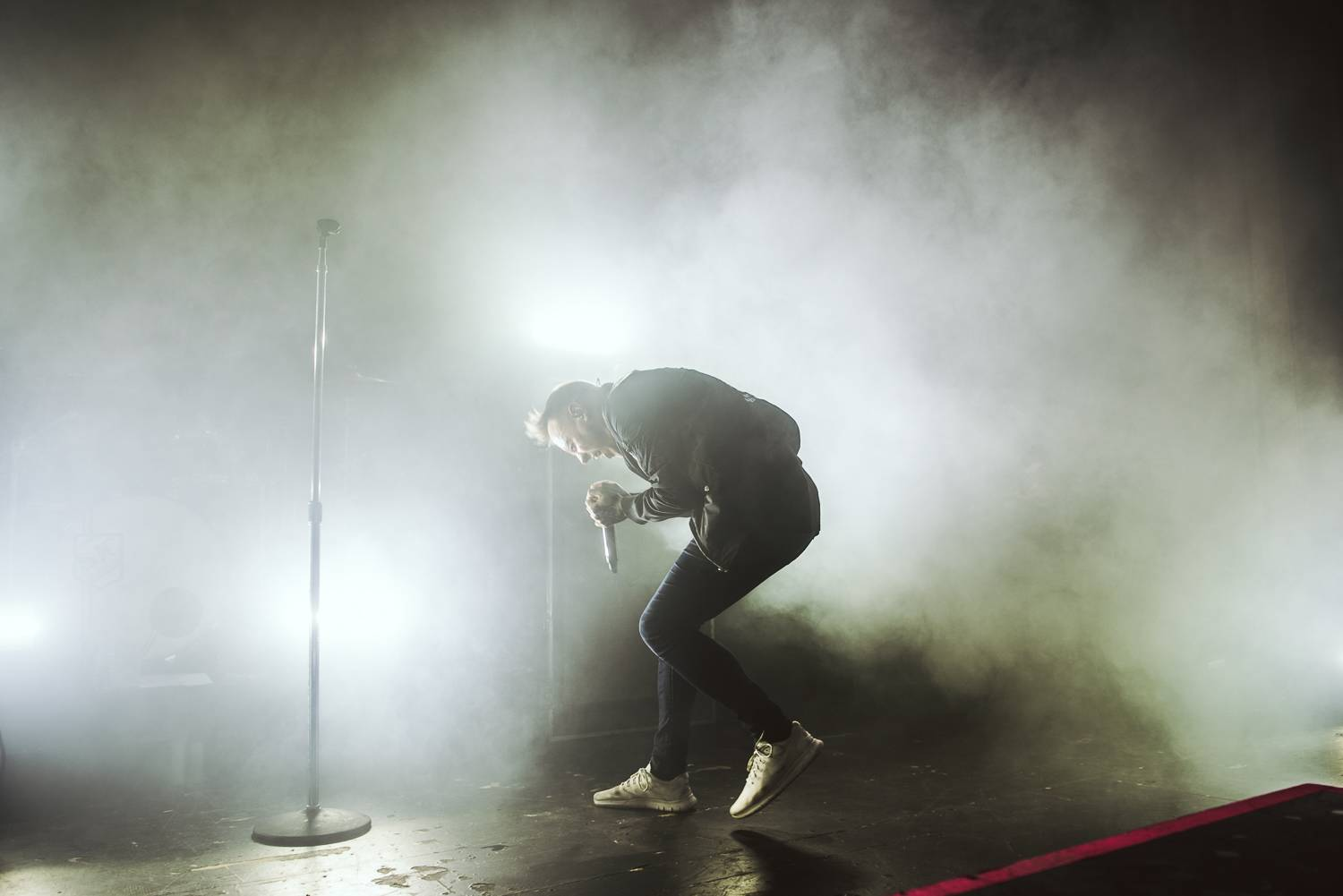 Architects at the Vogue Theatre, Vancouver, Feb 30 2018. Pavel Boiko photo.