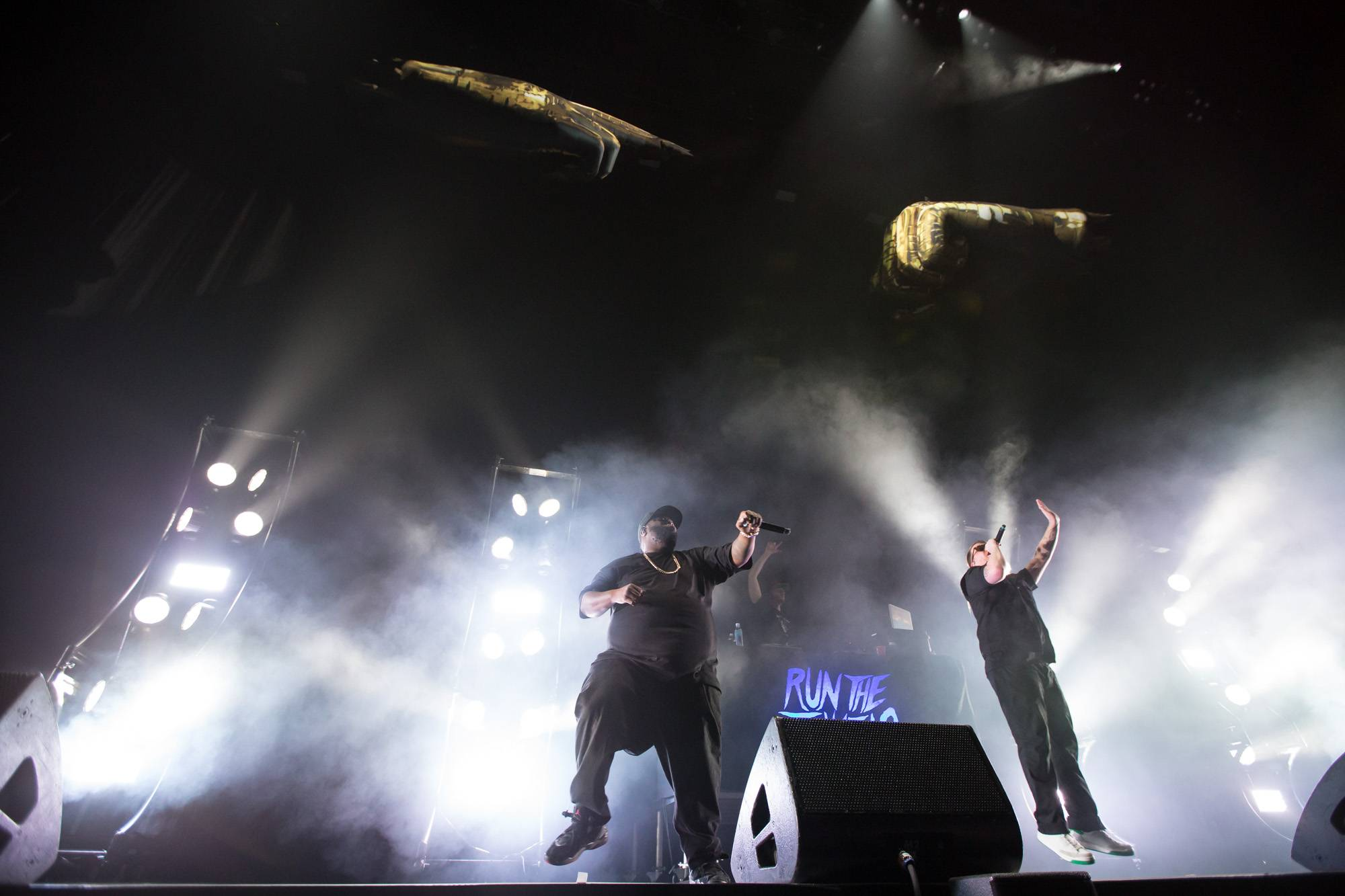 Run The Jewels at Rogers Arena, Vancouver, Mar 8 2018. Kirk Chantraine photo.