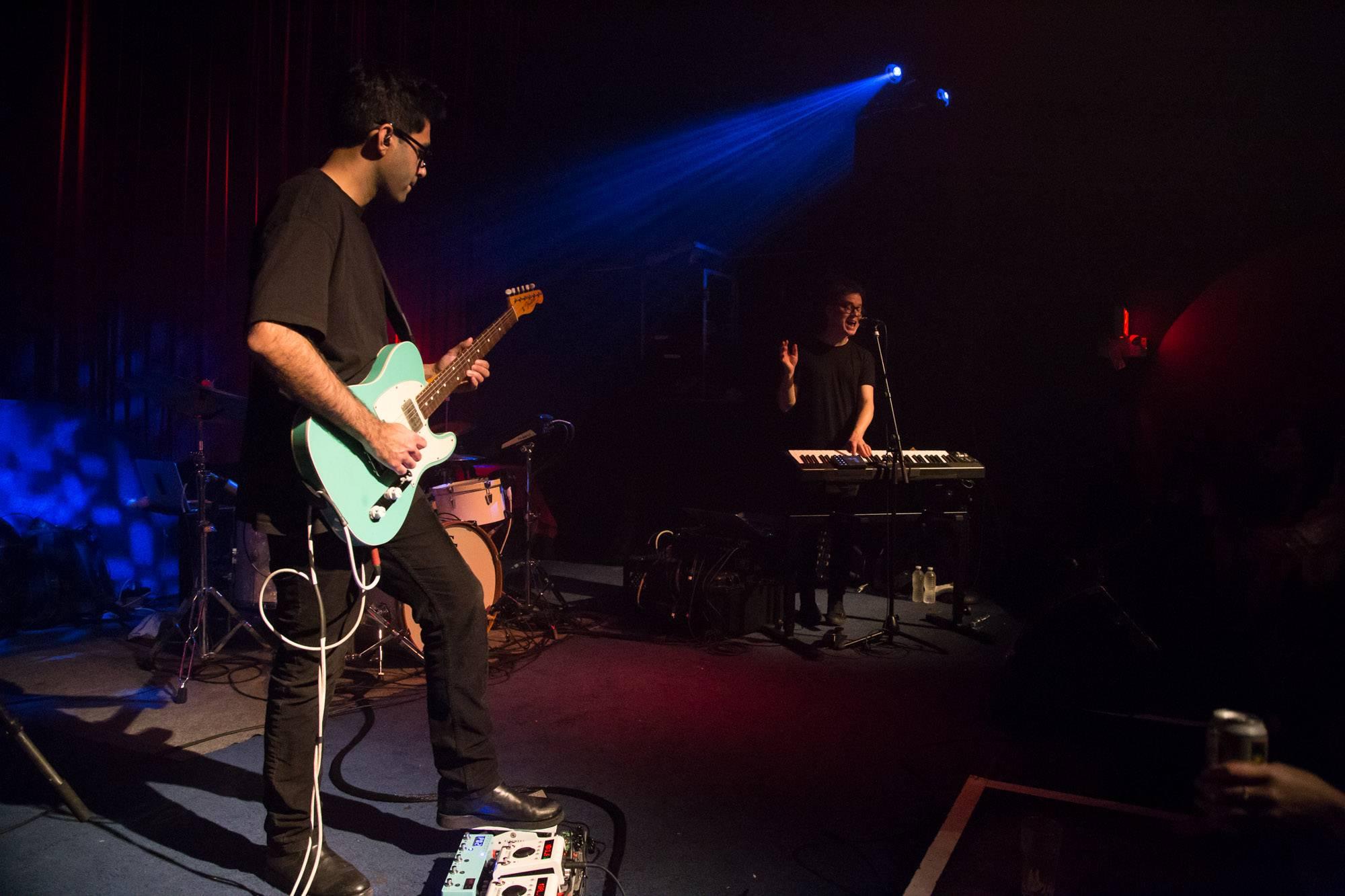 Son Lux at the Fox Cabaret, Vancouver, Mar 14 2018. Kirk Chantraine photo.