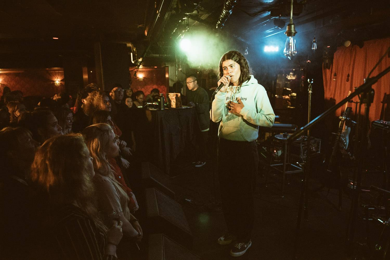 Ama Lou at the Biltmore Cabaret, Vancouver, April 28 2018. Pavel Boiko photo.