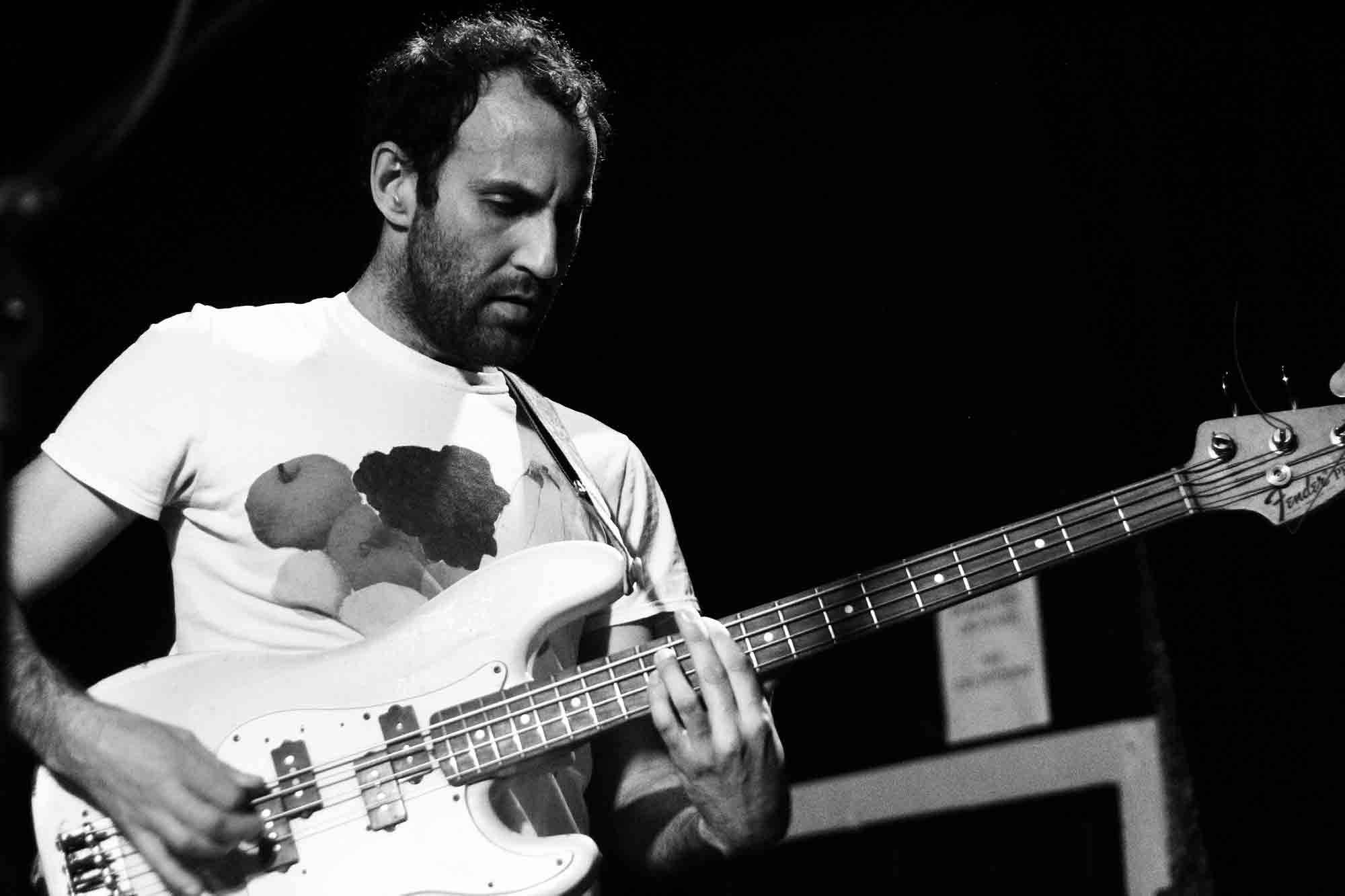 Preoccupations at the Cobalt, Vancouver, May 9 2018. Celine Pinget photo.
