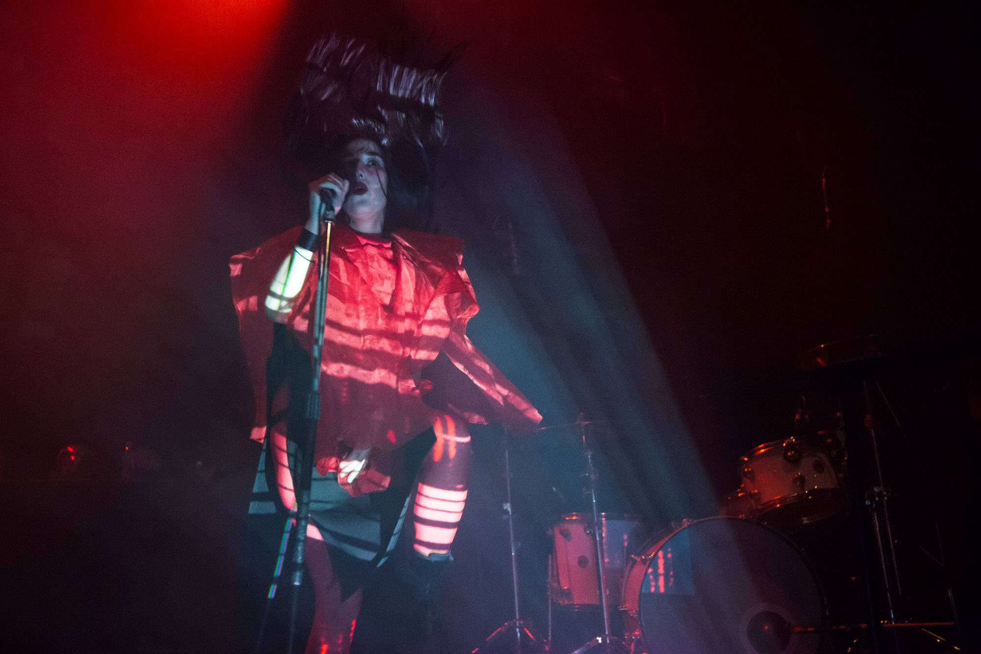 Zola Jesus at the Rickshaw Theatre, Vancouver, May 2 2018. Kirk Chantraine photo.
