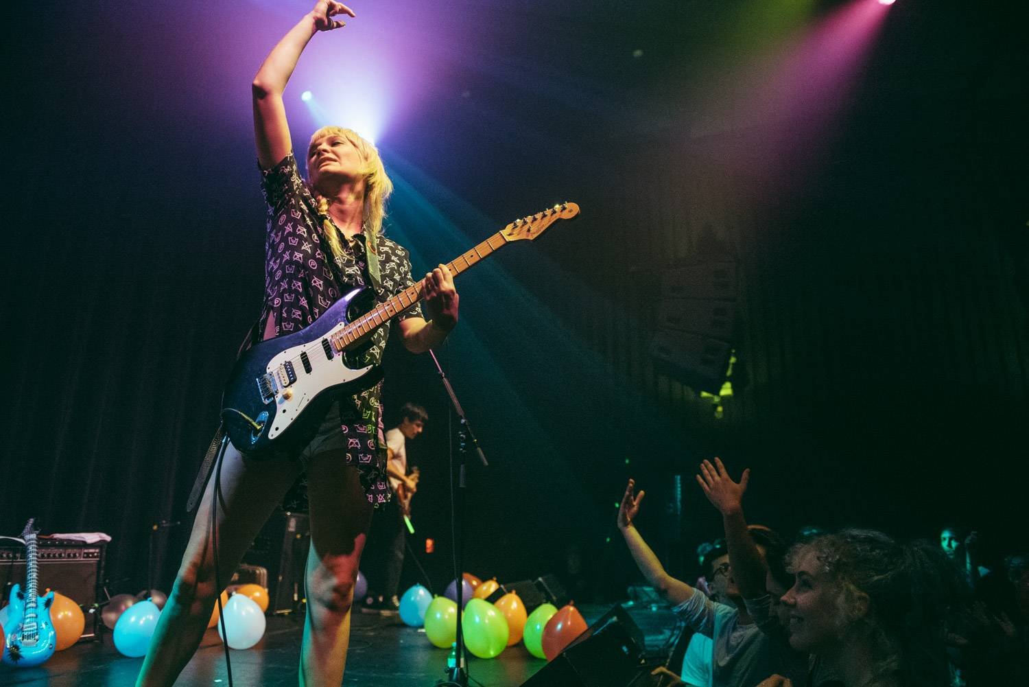 Cherry Glazerr at the Imperial, Vancouver, June 23 2018. Pavel Boiko photo.