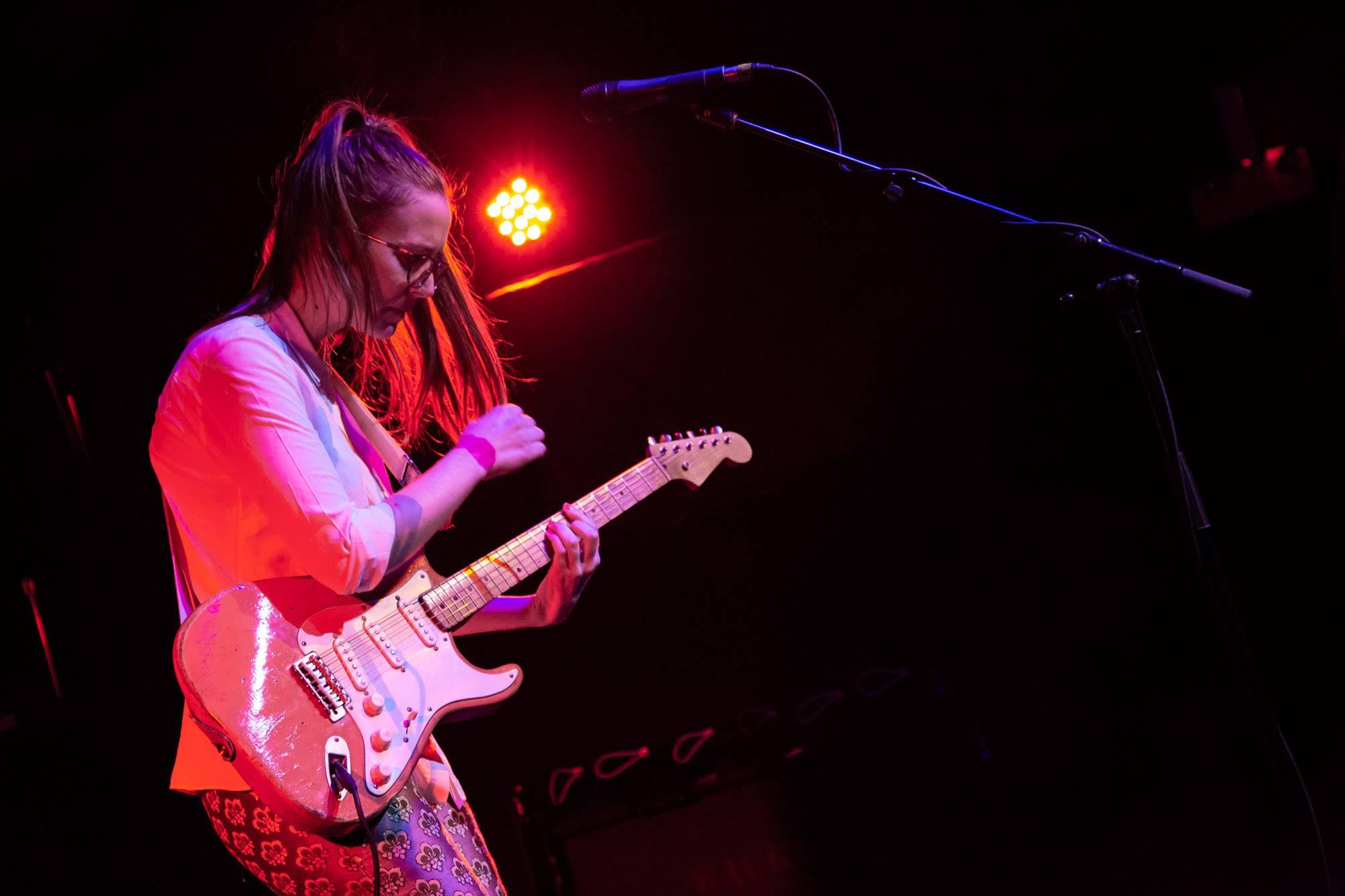 Margaret Glaspy at Westward Festival, Vancouver, Sep 15 2018. Kirk Chantraine photo.