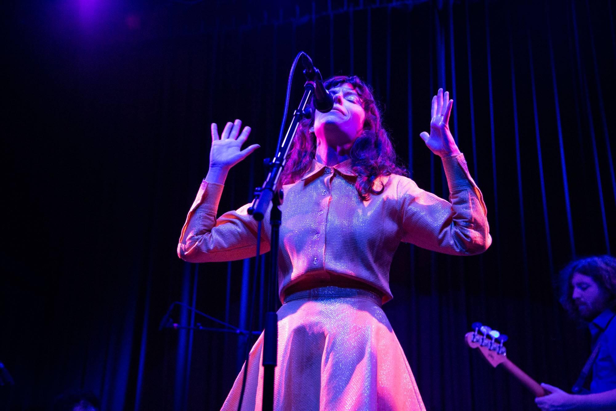 Natalie Prass at the Fox Cabaret, Vancouver, Sep 25 2018. Kirk Chantraine photo.