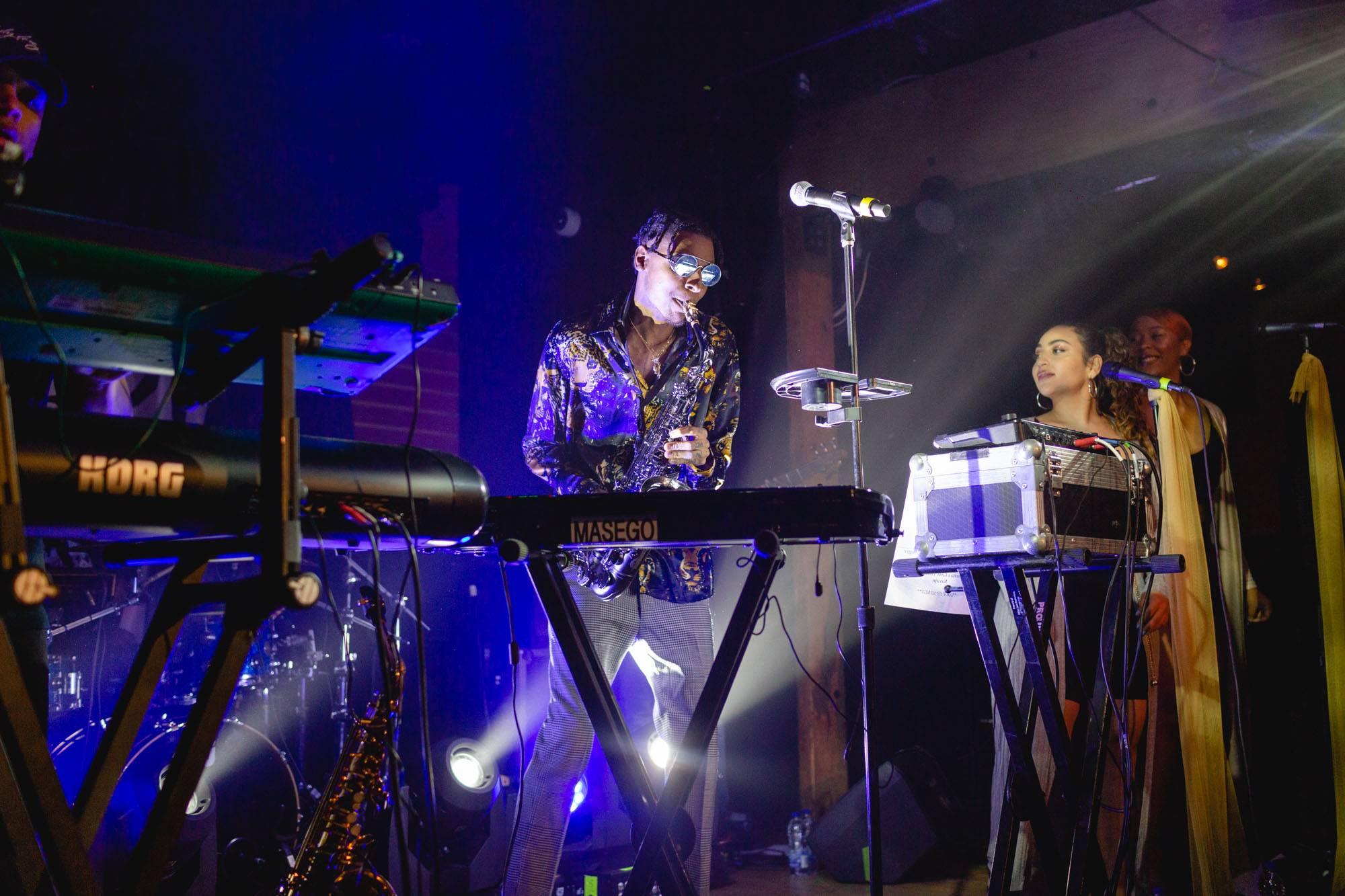 Masego at Fortune Sound Club, Vancouver, Nov 16 2018. Audrey Alexandrescu photo.