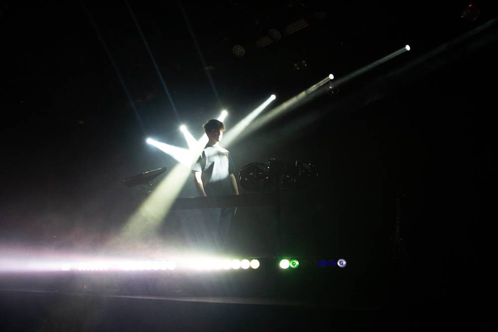 Petit Biscuit at the Commodore Ballroom, Vancouver, Nov 14 2018. Kirk Chantraine photo.