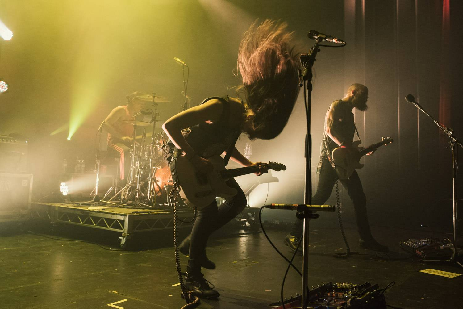 Baroness at the Vogue Theatre, Vancouver, Mar 20 2019. Pavel Boiko photo.