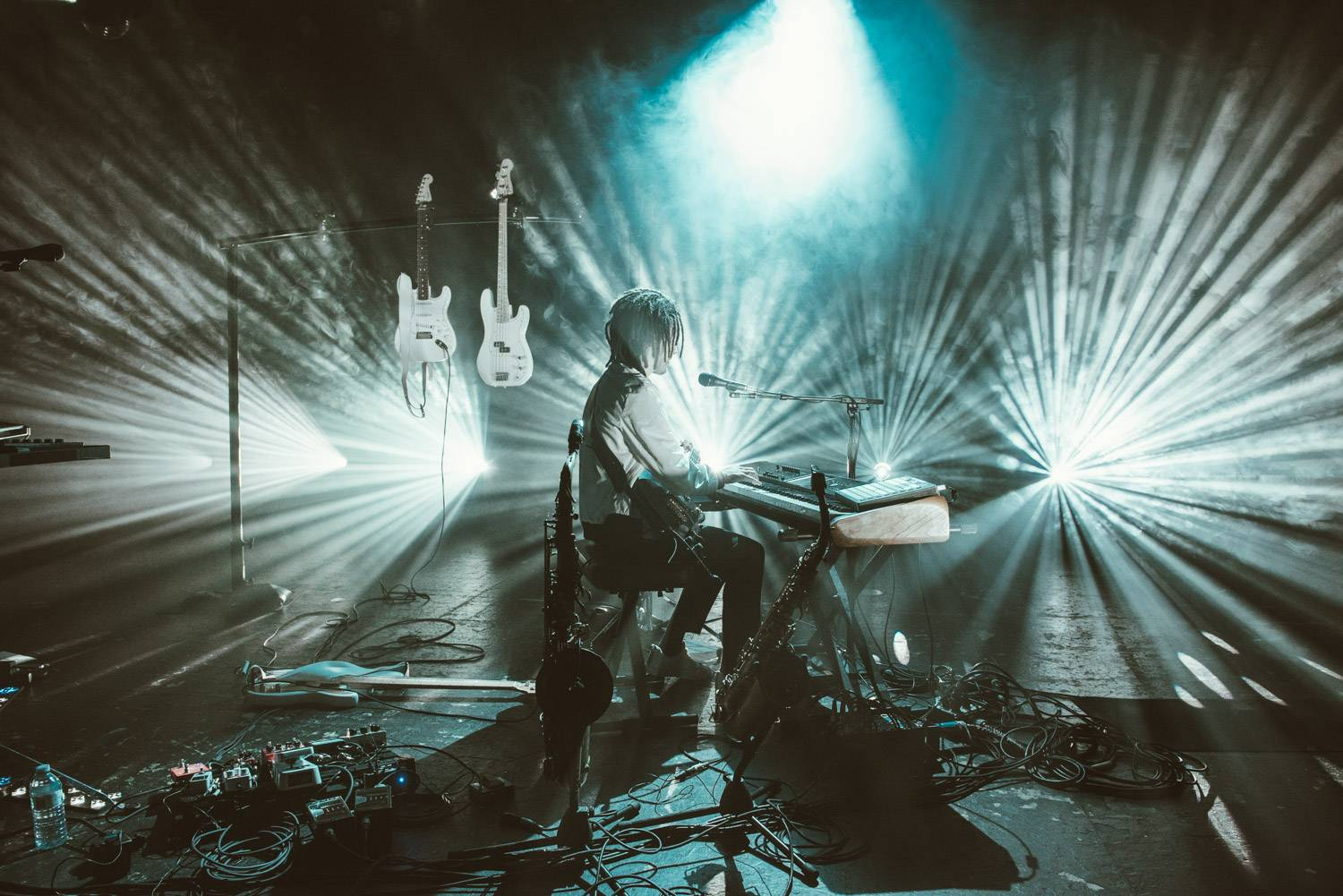 FKJ at the Commodore Ballroom, Vancouver, Apr 5 2019. Pavel Boiko photo.