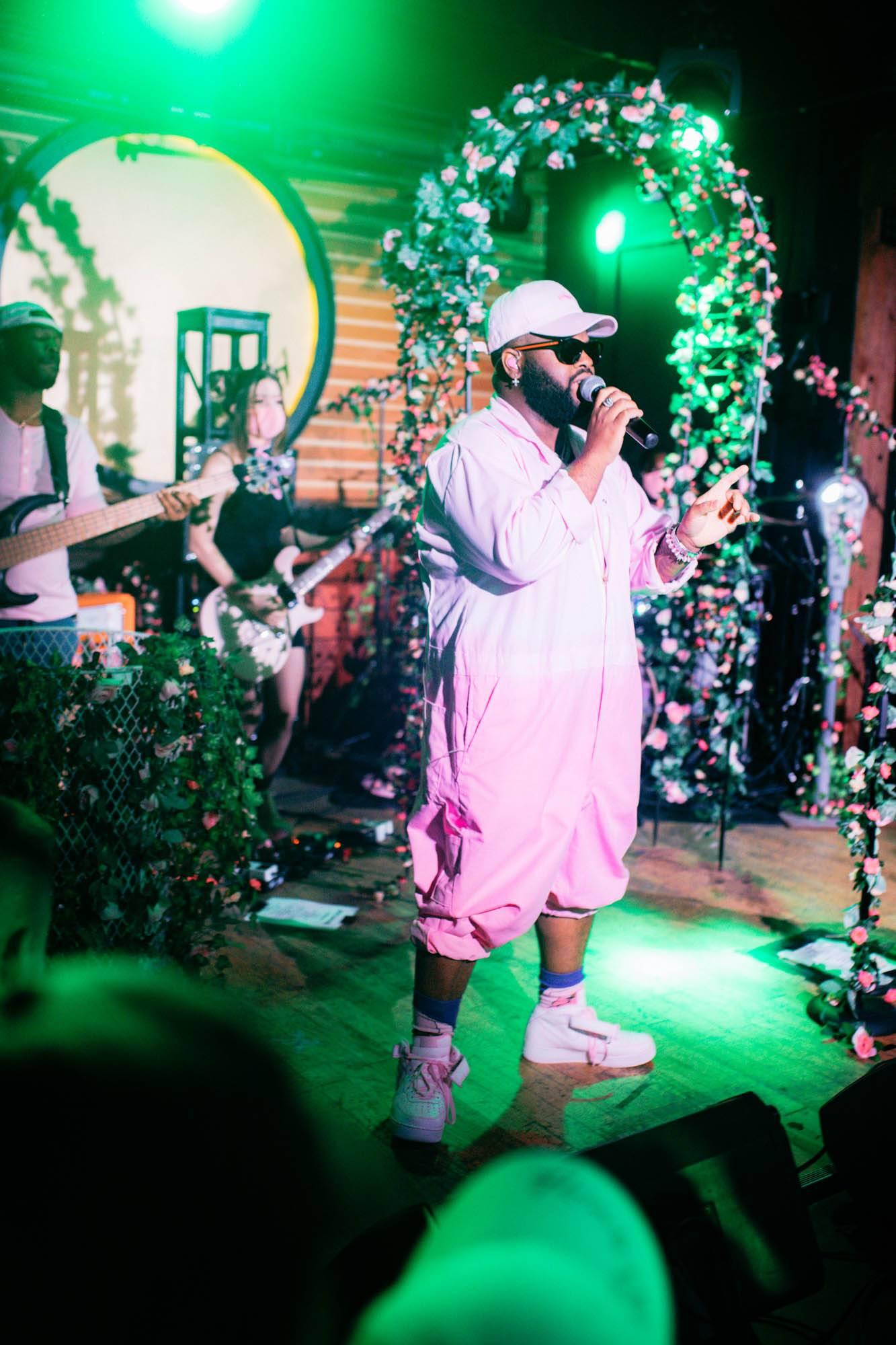 Pink Sweat$ at Fortune Sound Club, Vancouver, May 22 2019. Noah Shumka photo.