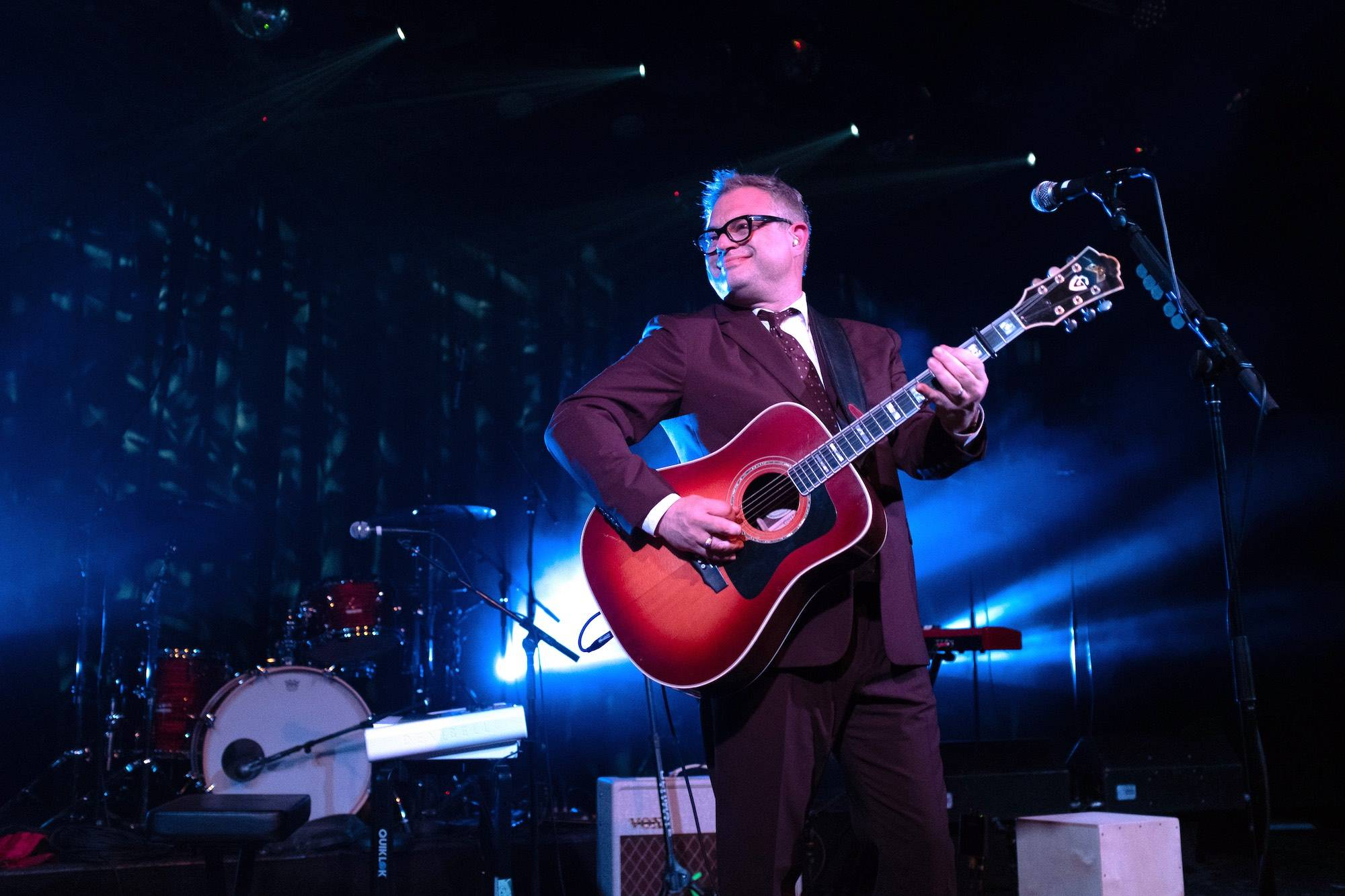Steven Page at the Commodore Ballroom, Vancouver, May 31 2019. Scott Alexander photo.