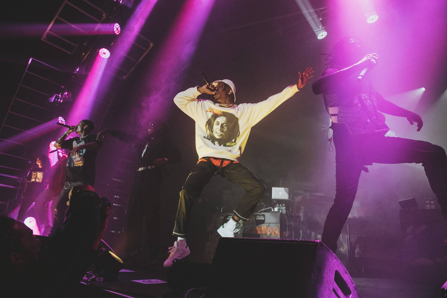 Joey Bada$$ and Flatbush Zombies at the PNE Forum, Vancouver, July 25 2019. Pavel Boiko photo.