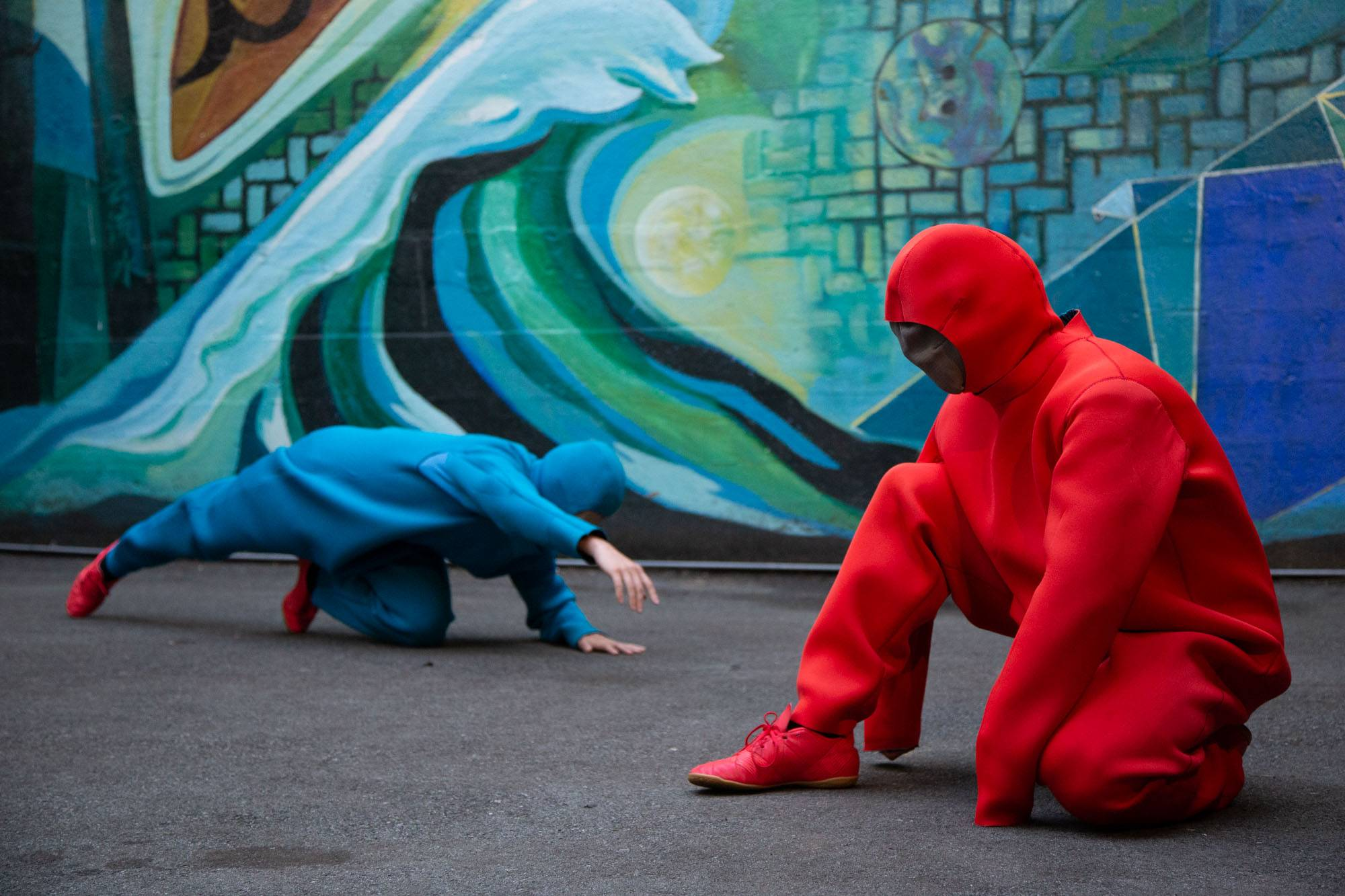 Dancing on the Edge: Rigel & Betelgeuse at the Firehall Arts Centre, Vancouver, Jul 11 2019. Kirk Chantraine photo.