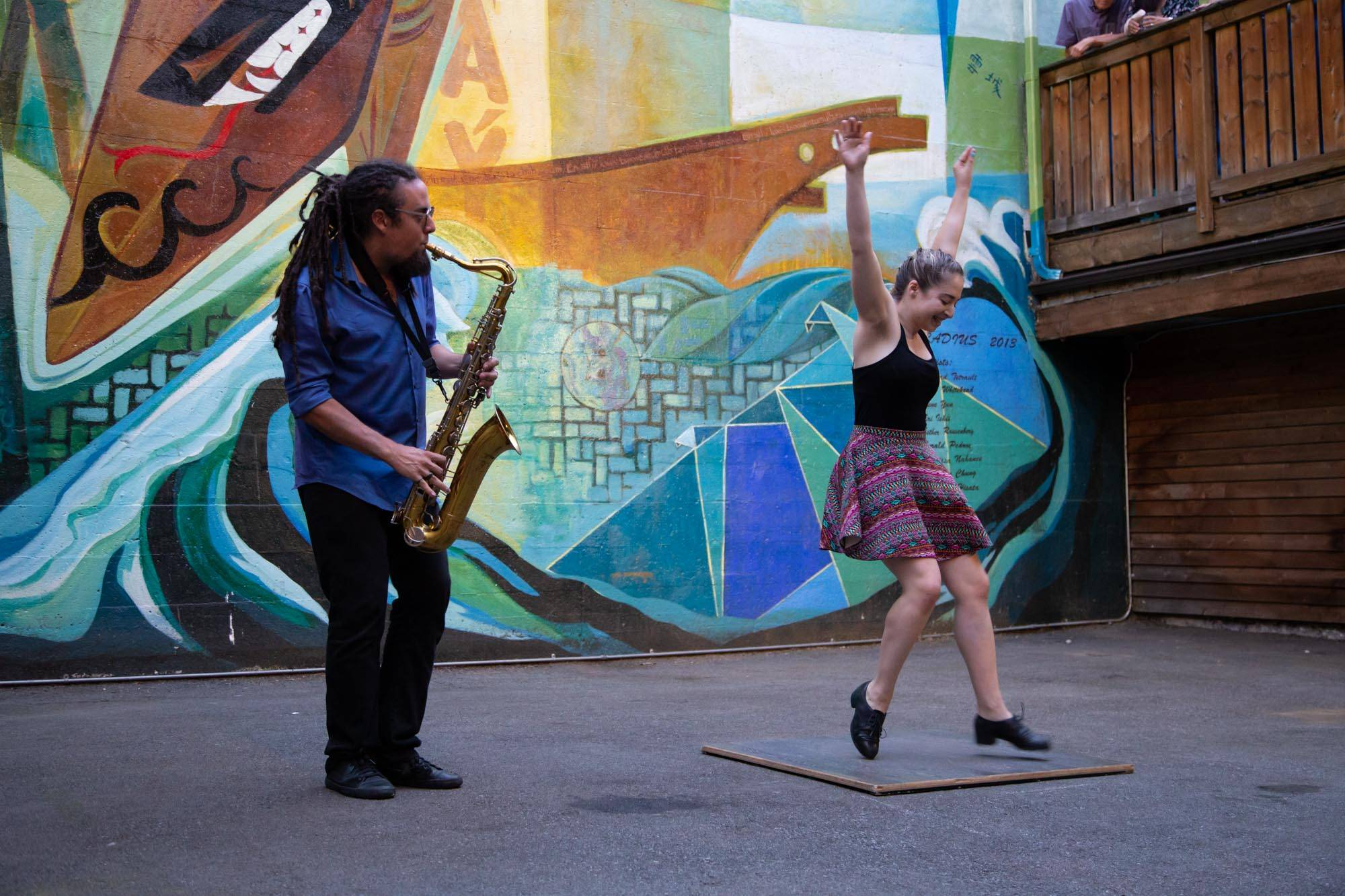 Dancing on the Edge: Where the Music Begins at the Firehall Arts Centre, Vancouver, Jul 13 2019. Kirk Chantraine photo.