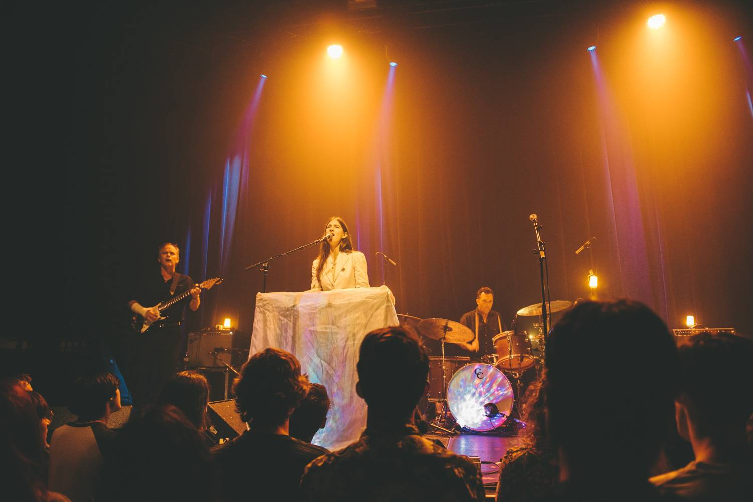 Weyes Blood at the Imperial, Vancouver, Aug 14 2019. Pavel Boiko photo.