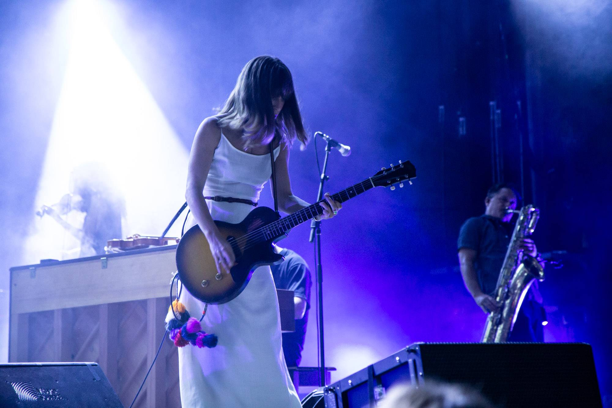 Feist at the Burnaby Blues and Roots Festival, Aug 10 2019. Kirk Chantraine photo.