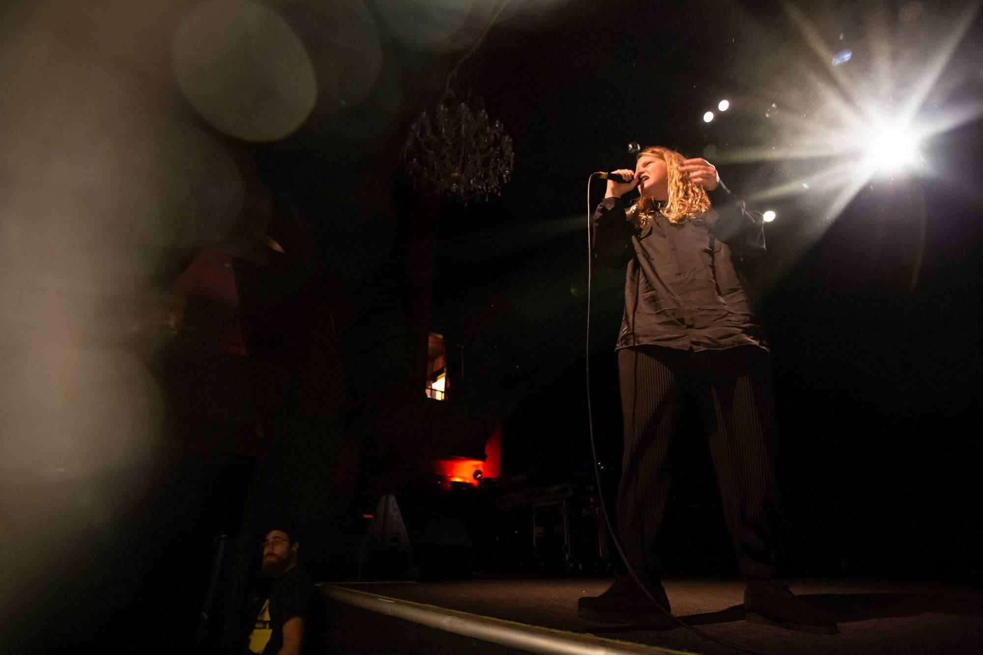 Kate Tempest at The Fillmore, San Francisco, Sep 25 2019. Kirk Chantraine photo.