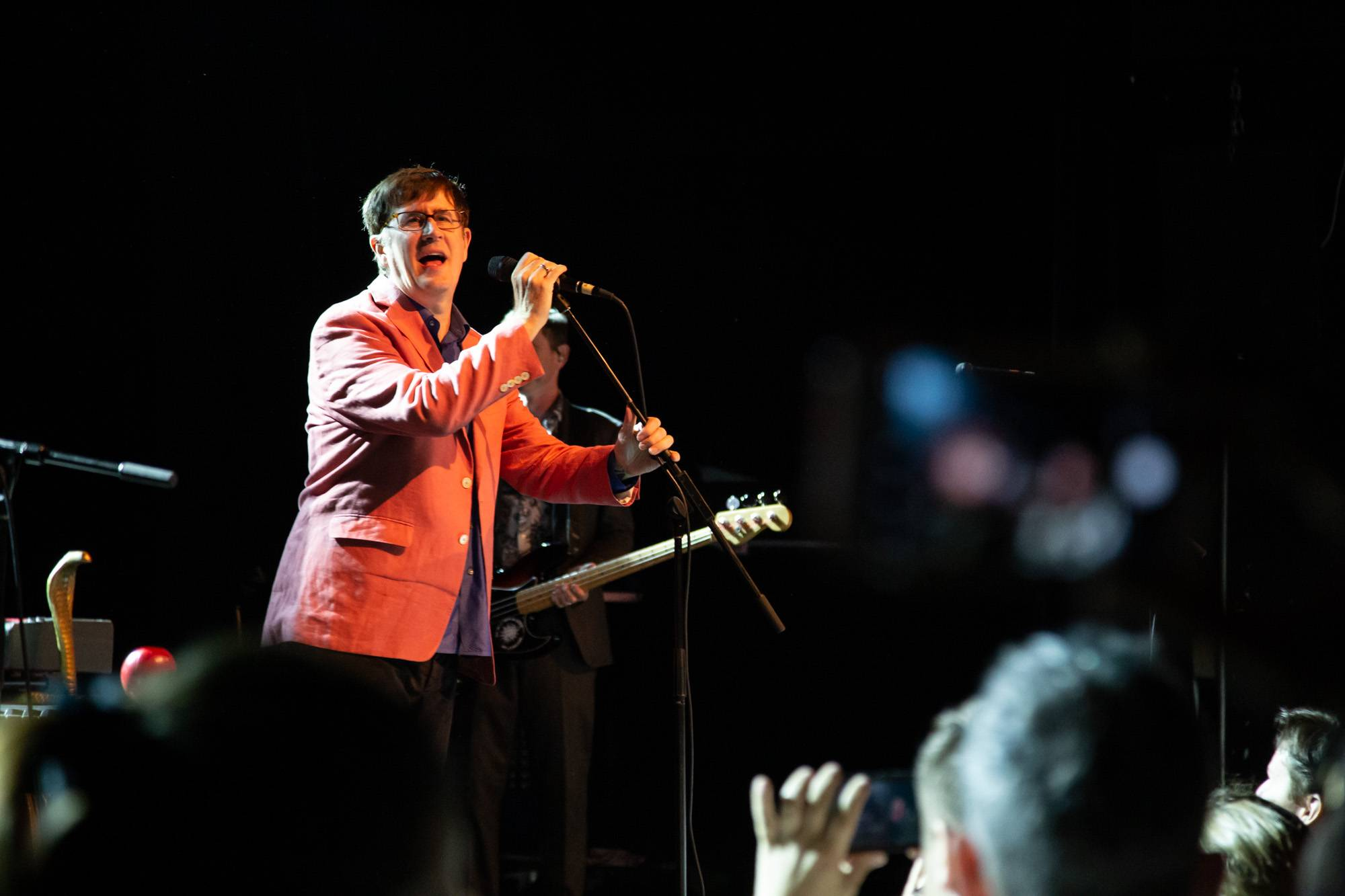 The Mountain Goats at the Commodore Ballroom, Vancouver, Sep 6 2019. Kirk Chantraine photo.