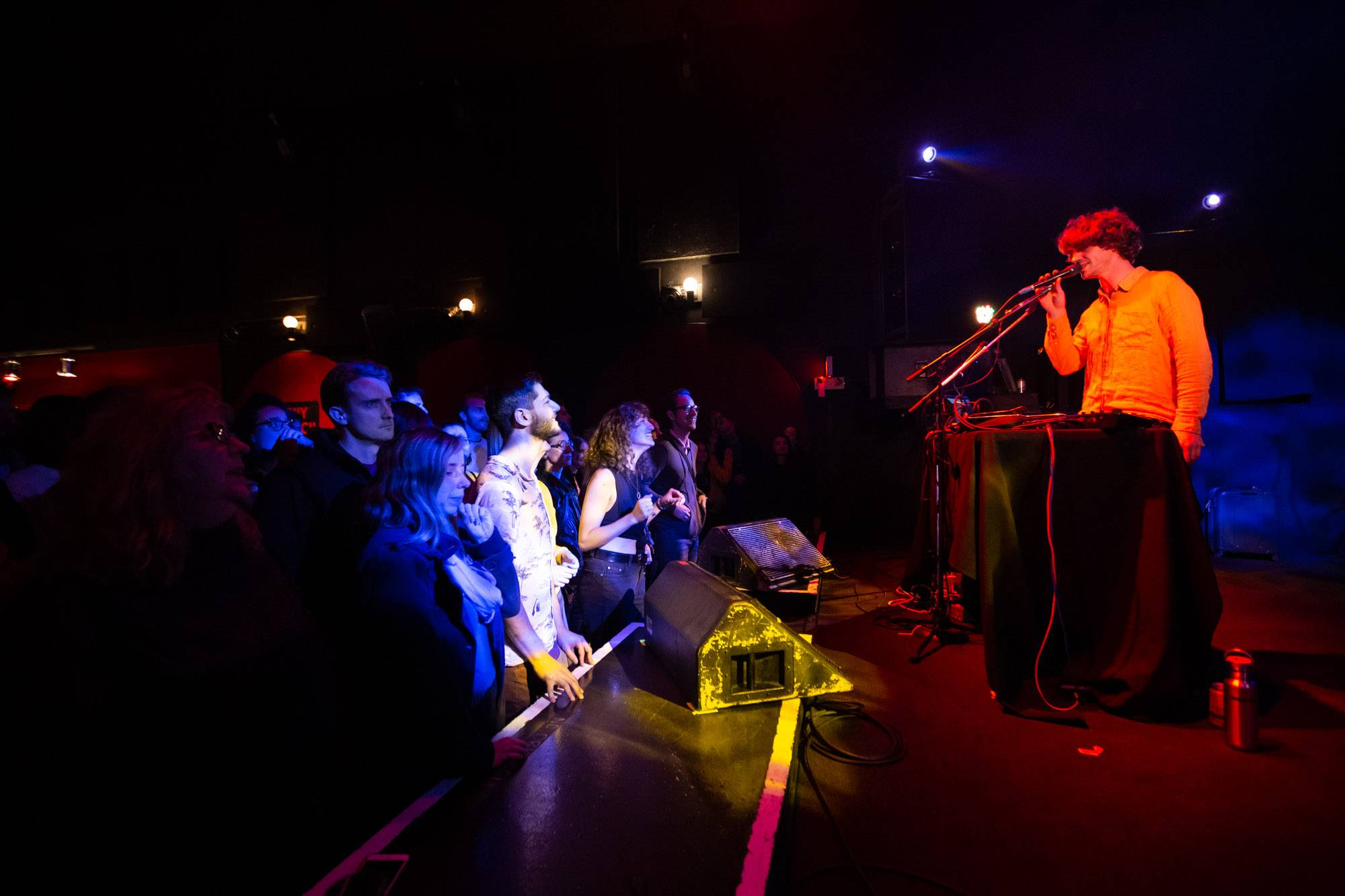 Cosmo Sheldrake at the Fox Cabaret, Vancouver, Oct 8 2019. Kirk Chantraine photo.