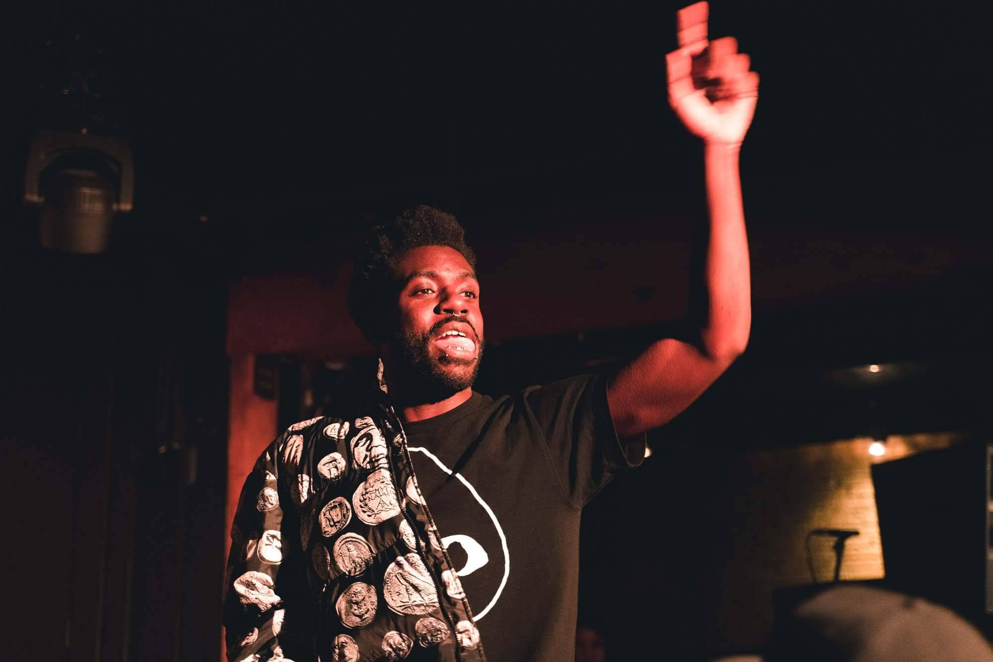 Dave at Fortune Sound Club, Vancouver, Nov 23 2019. Noah Shumka photo.