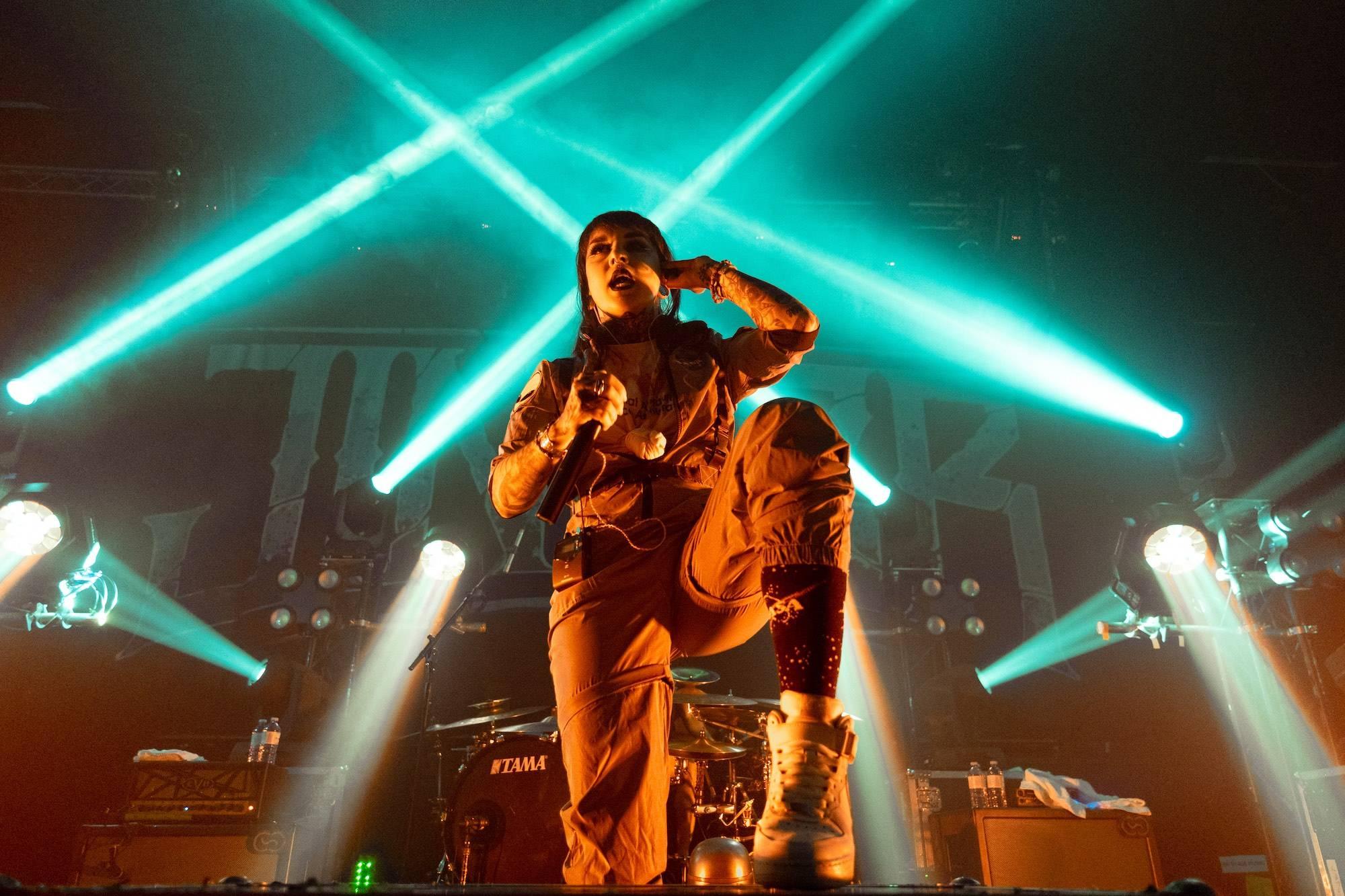 Jinjer at the Rickshaw Theatre, Vancouver, Oct 31 2019. Scott Alexander photo.