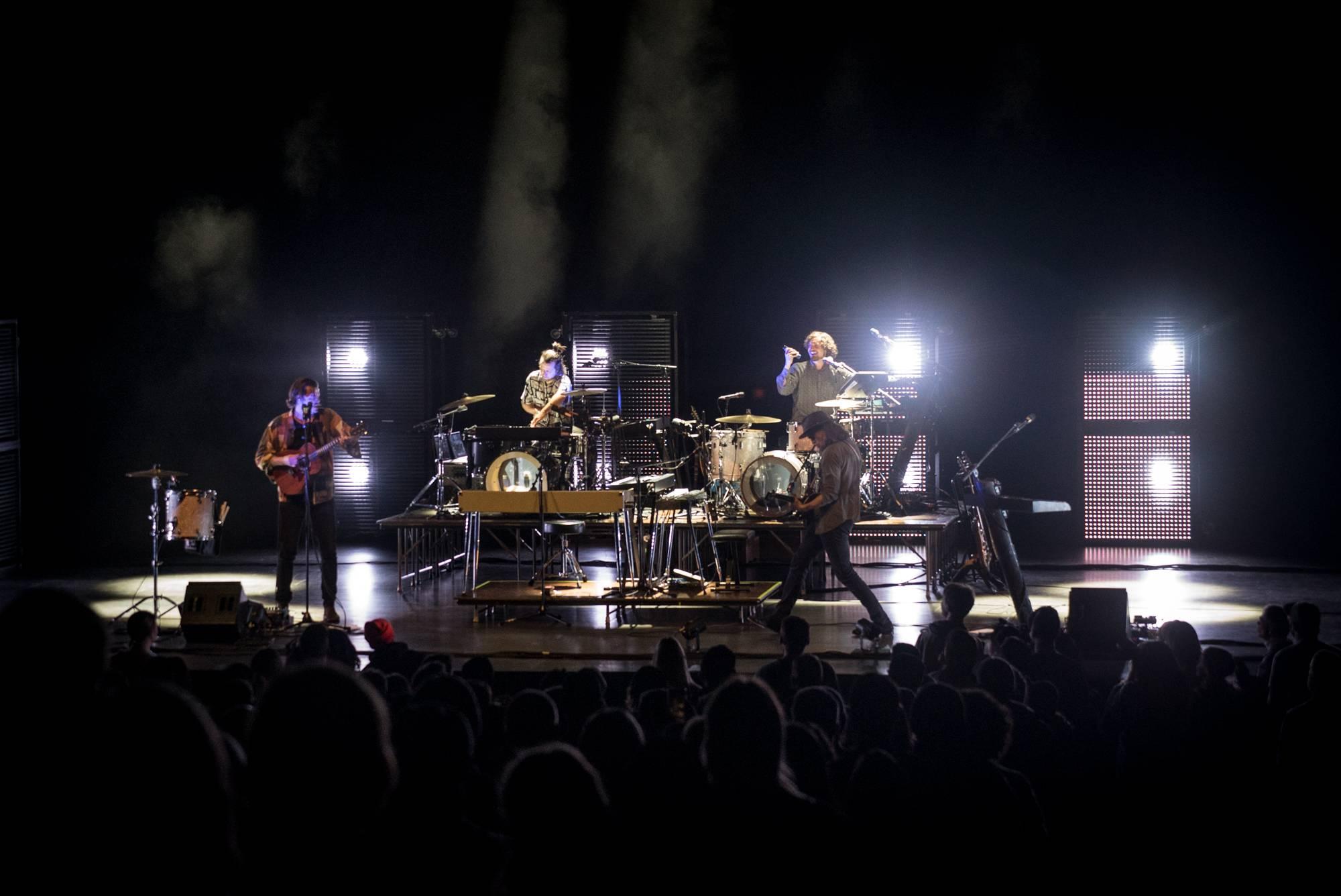 Half Moon Run at the Queen Elizabeth Theatre, Vancouver, Jan 15 2020. Janelle Huopalainen photo.