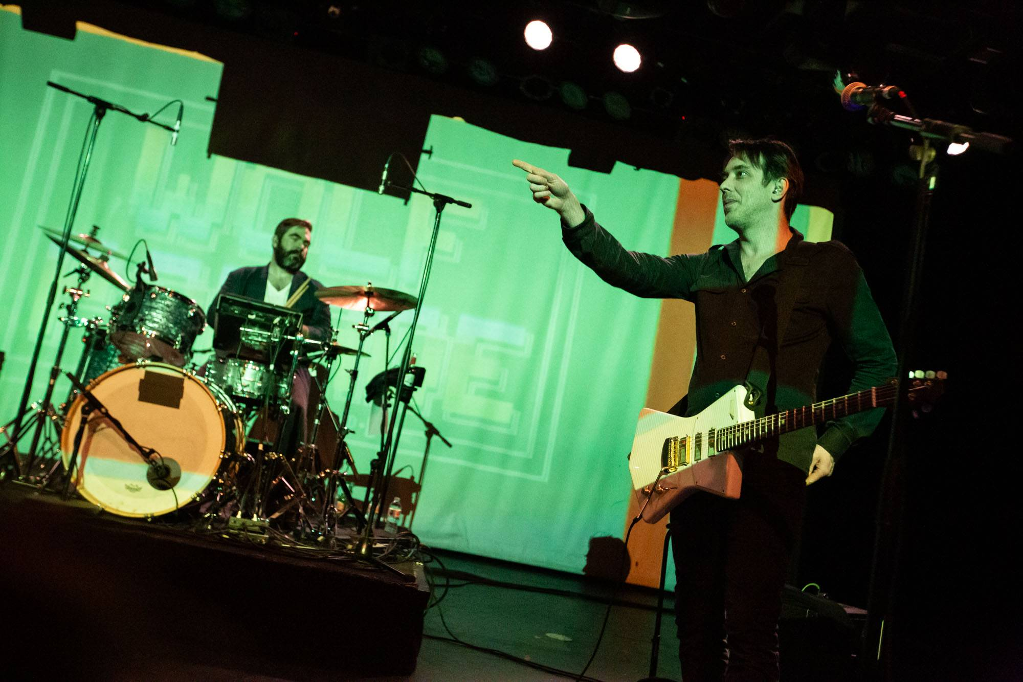 Wolf Parade at the Commodore Ballroom, Vancouver, Feb 12 2020. Kirk Chantraine photo.