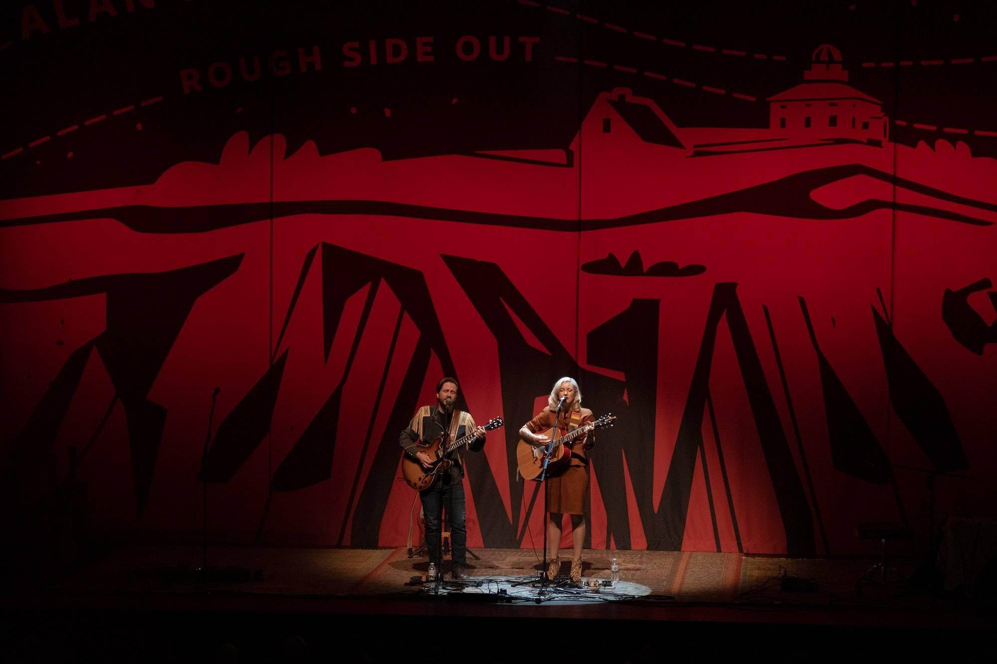 Kelly Prescott at Queen Elizabeth Theatre, Vancouver, Mar 8, 2020. Scott Alexander photo.