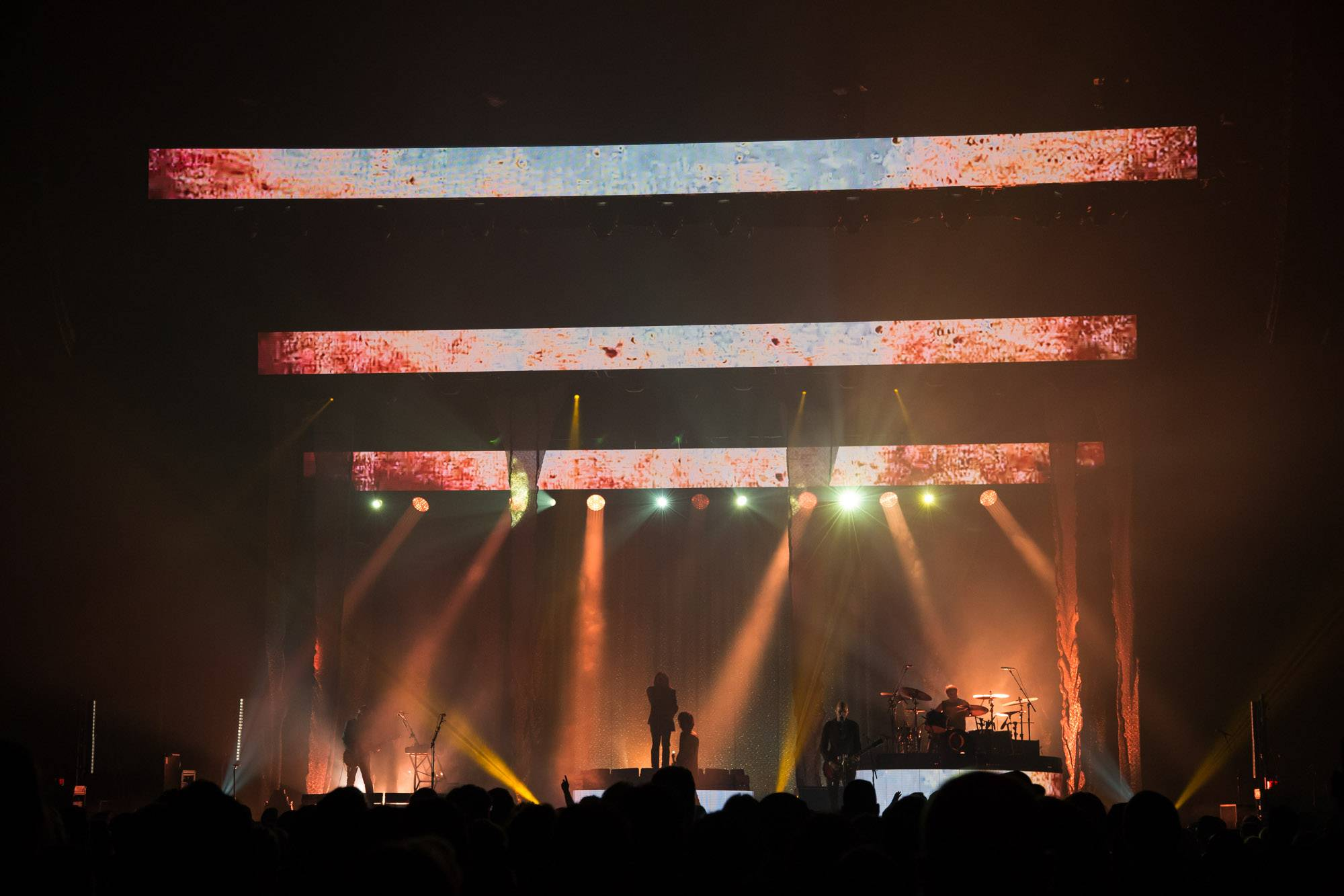 A Perfect Circle At The Pacific Coliseum Vancouver Photos