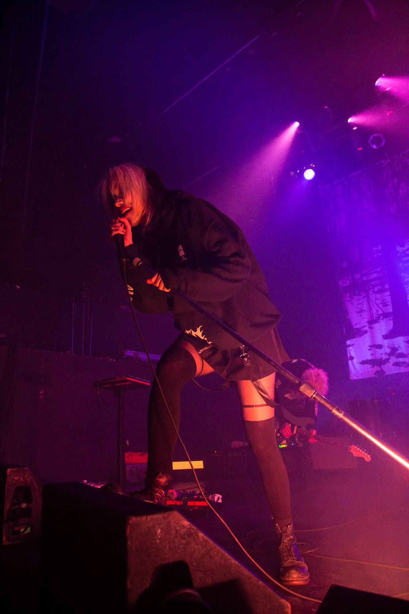 Alice Glass At The Rickshaw Theatre The Snipe News