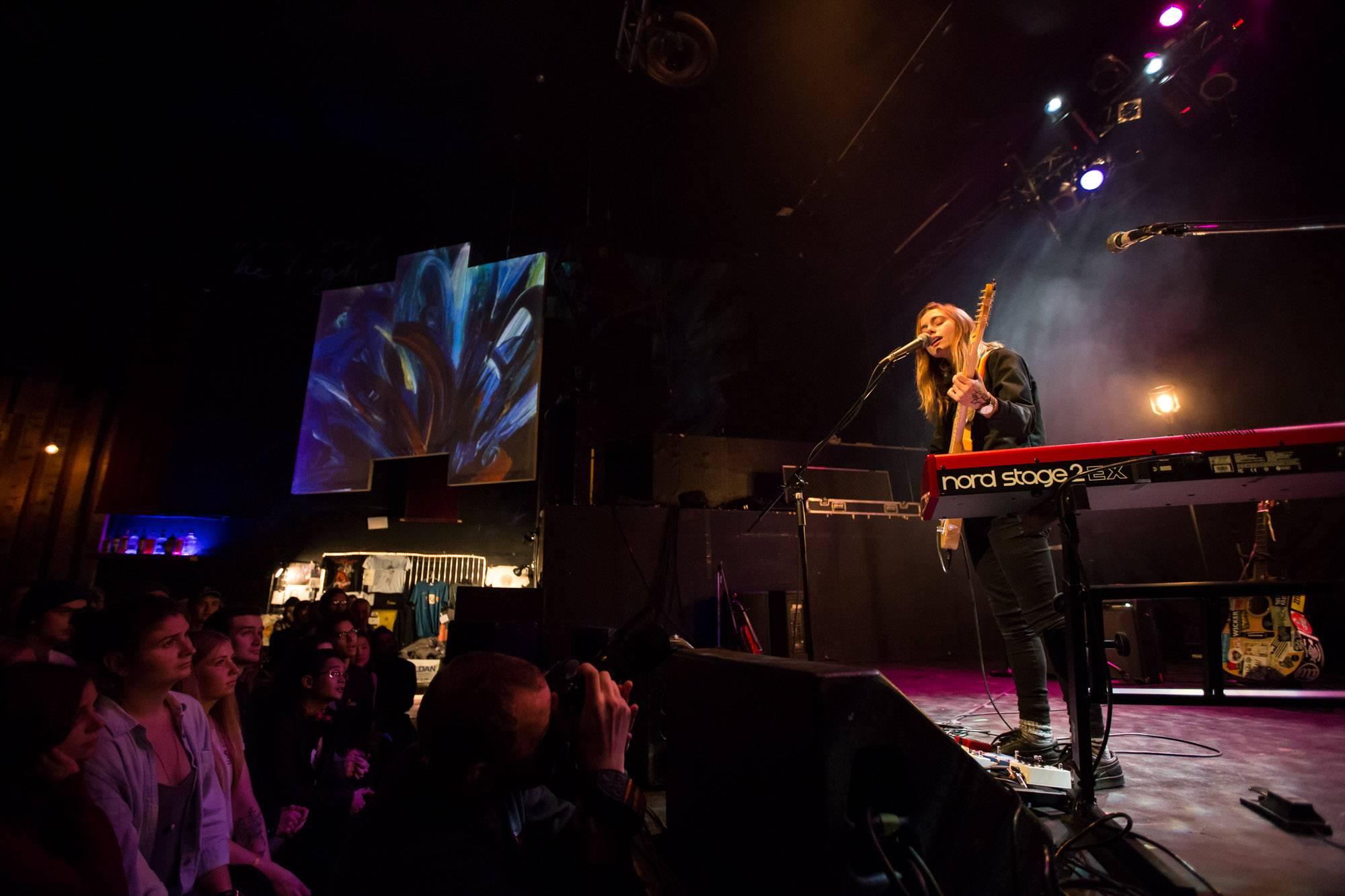 Julien Baker At The Rickshaw Theatre Vancouver Dec 9