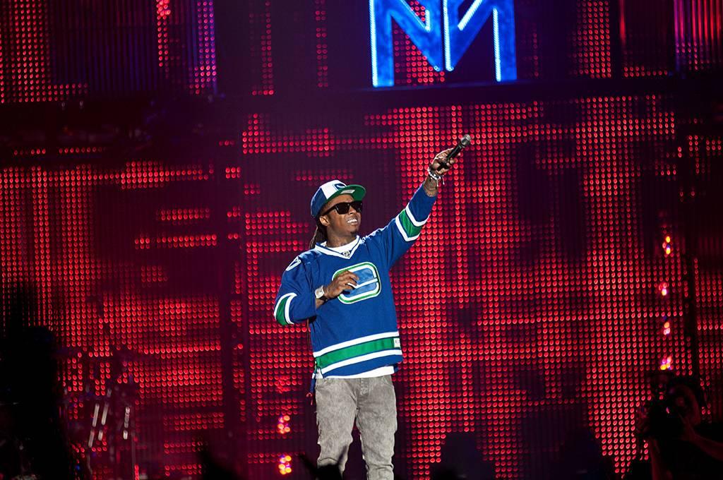 Lil Wayne At Rogers Arena Vancouver