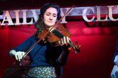 Rachel Cardiello at the Railway Club, Vancouver, Jan 14 2012. Kirk Chantraine photos