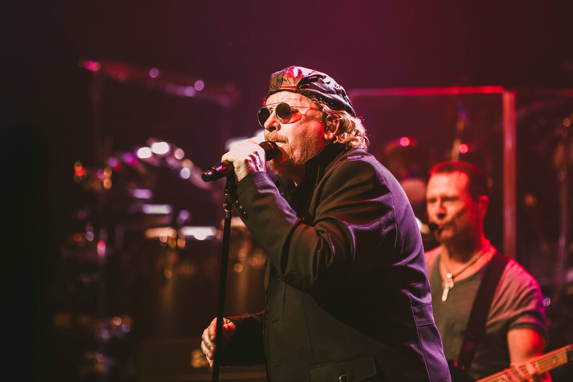 Toto at The Centre, Vancouver, July 30 2018—photos